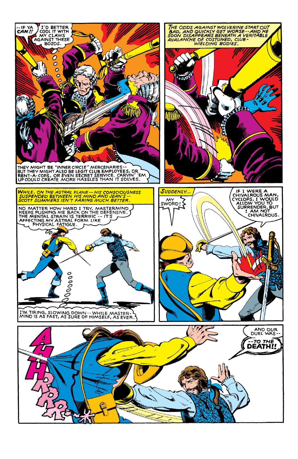 Read online X-Men Milestones: Dark Phoenix Saga comic -  Issue # TPB (Part 1) - 93