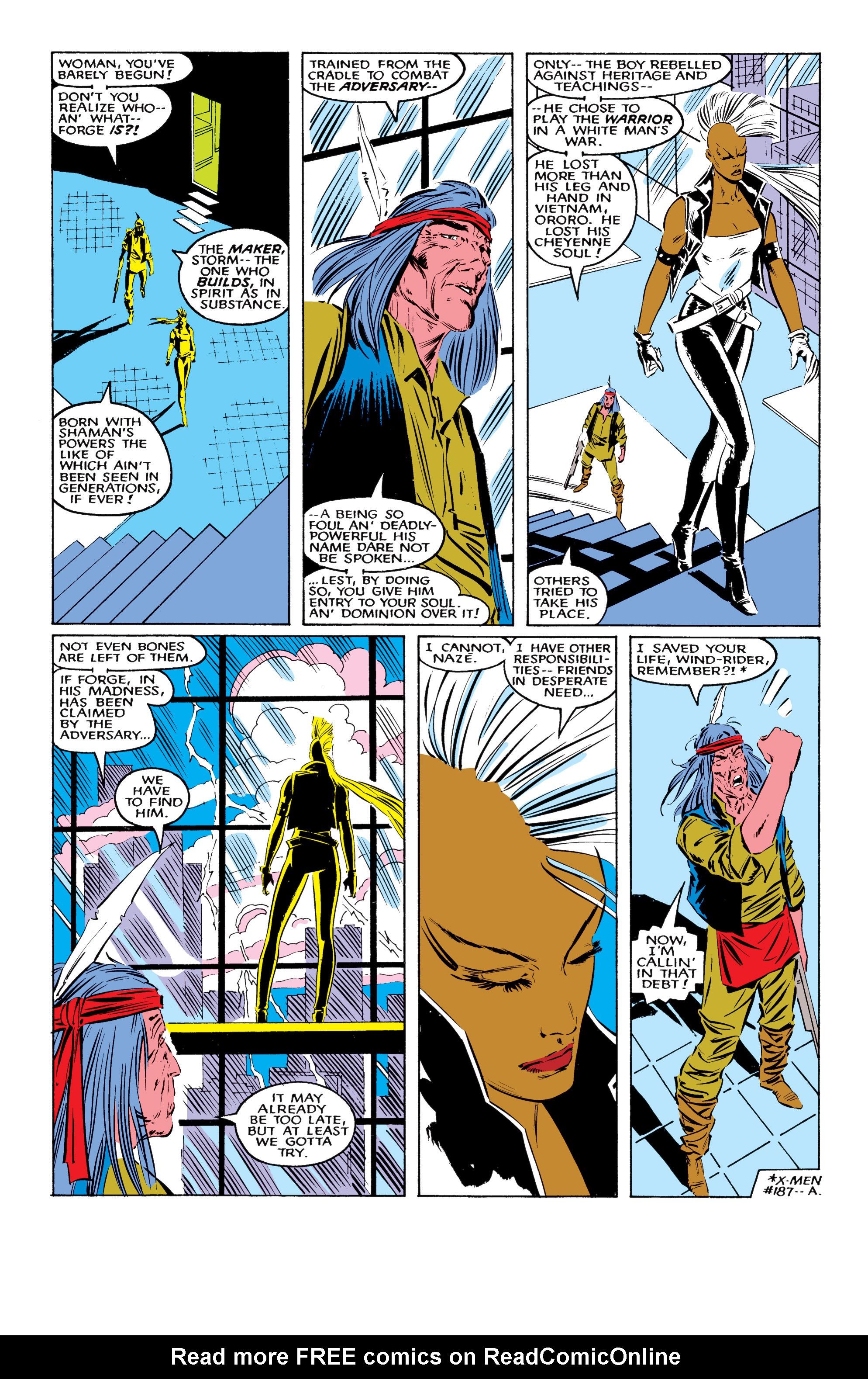 Read online Uncanny X-Men (1963) comic -  Issue #220 - 21
