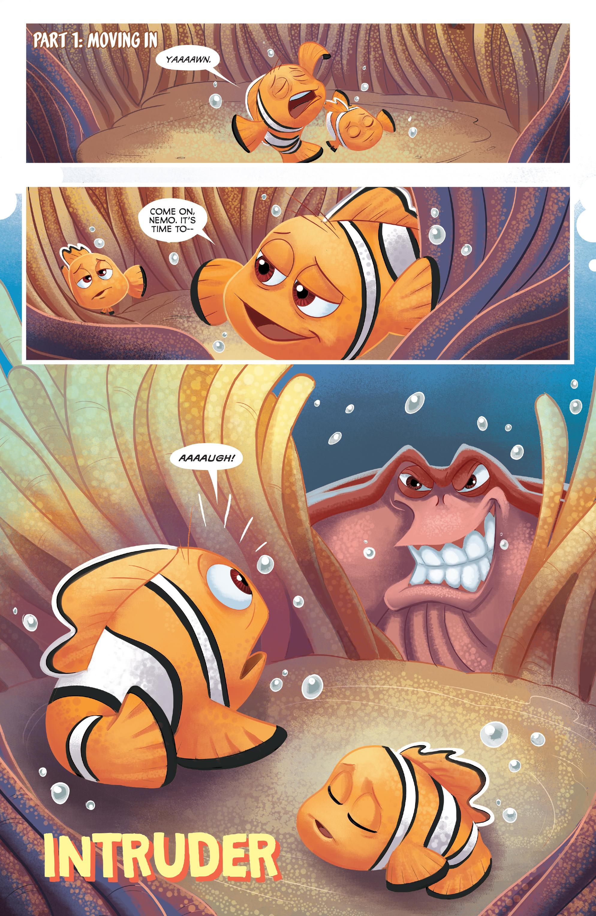 Read online Disney Pixar Finding Dory comic -  Issue #3 - 6