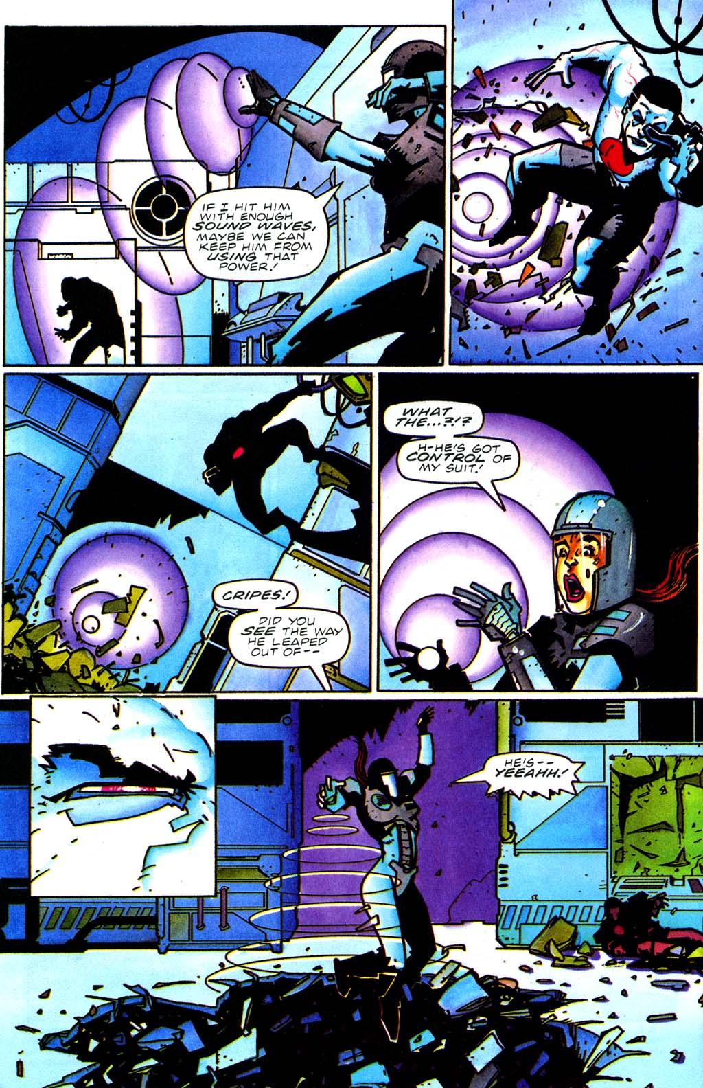 Read online Secret Weapons comic -  Issue #20 - 5