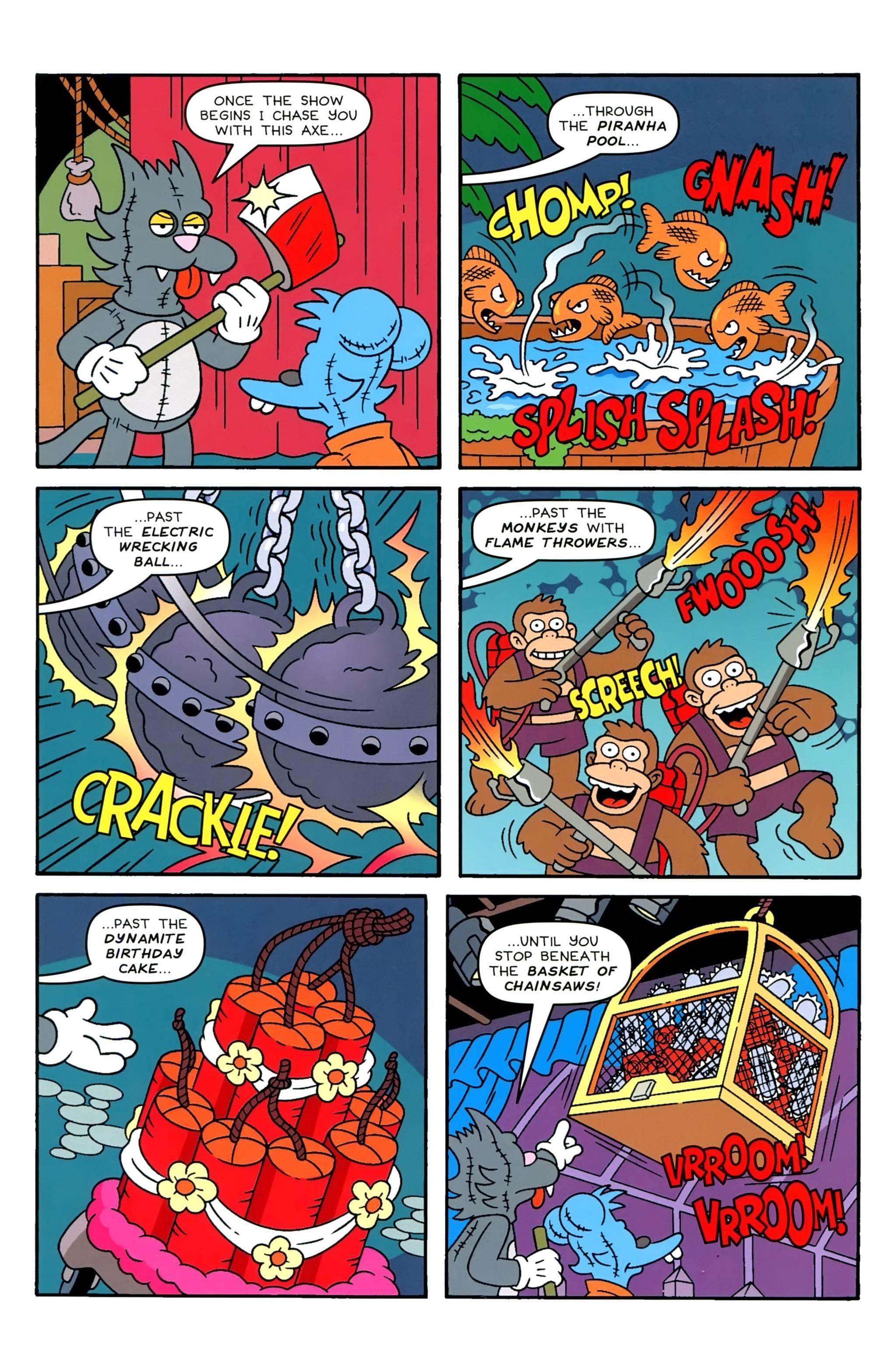 Read online Simpsons Comics comic -  Issue #229 - 10