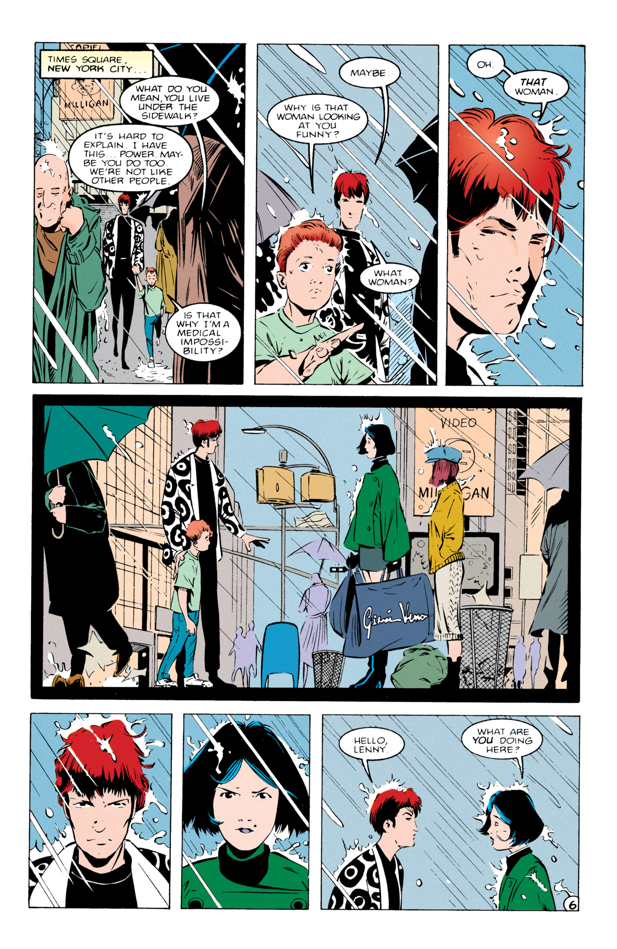 Read online Shade, the Changing Man comic -  Issue #55 - 7