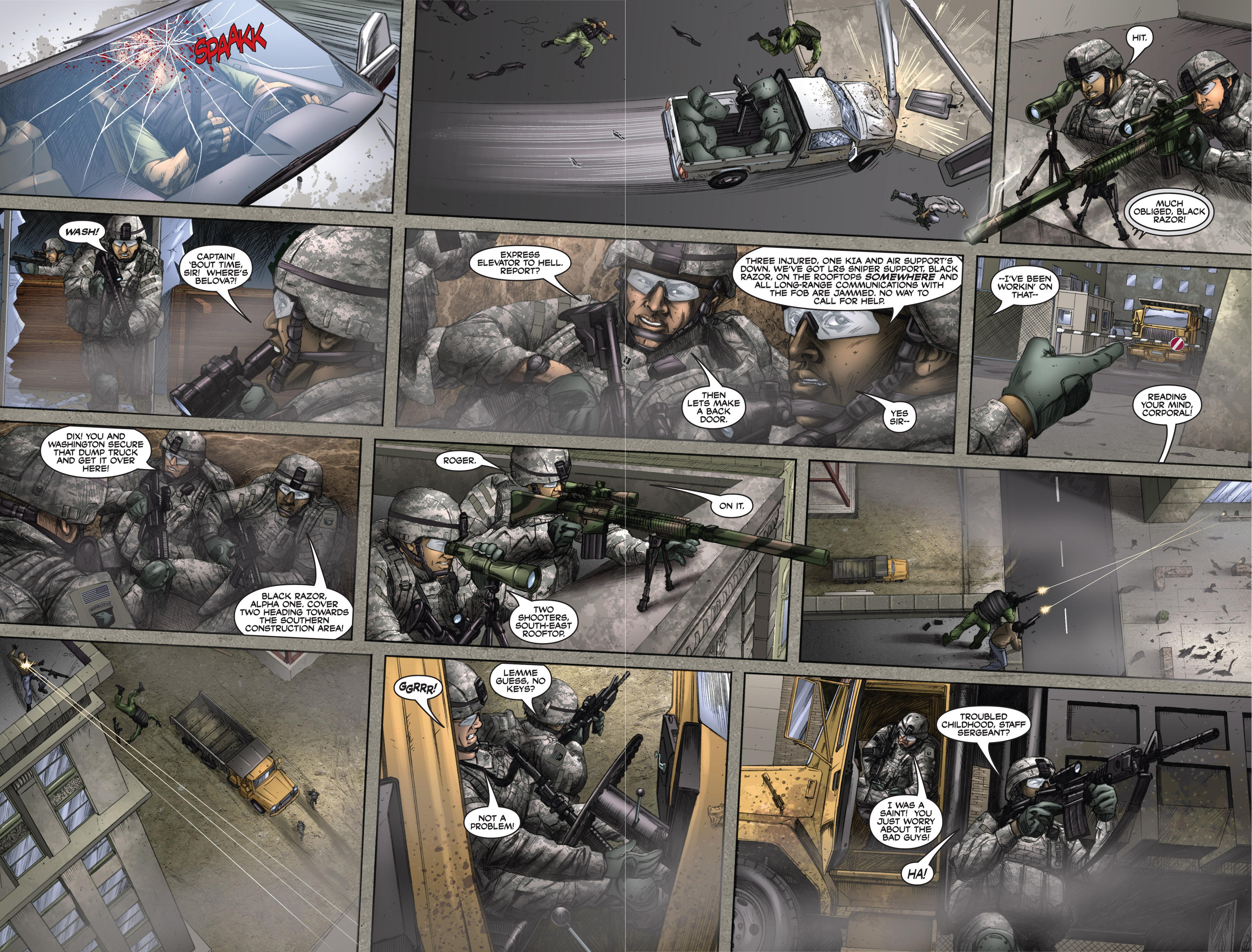Read online America's Army comic -  Issue #6 - 29