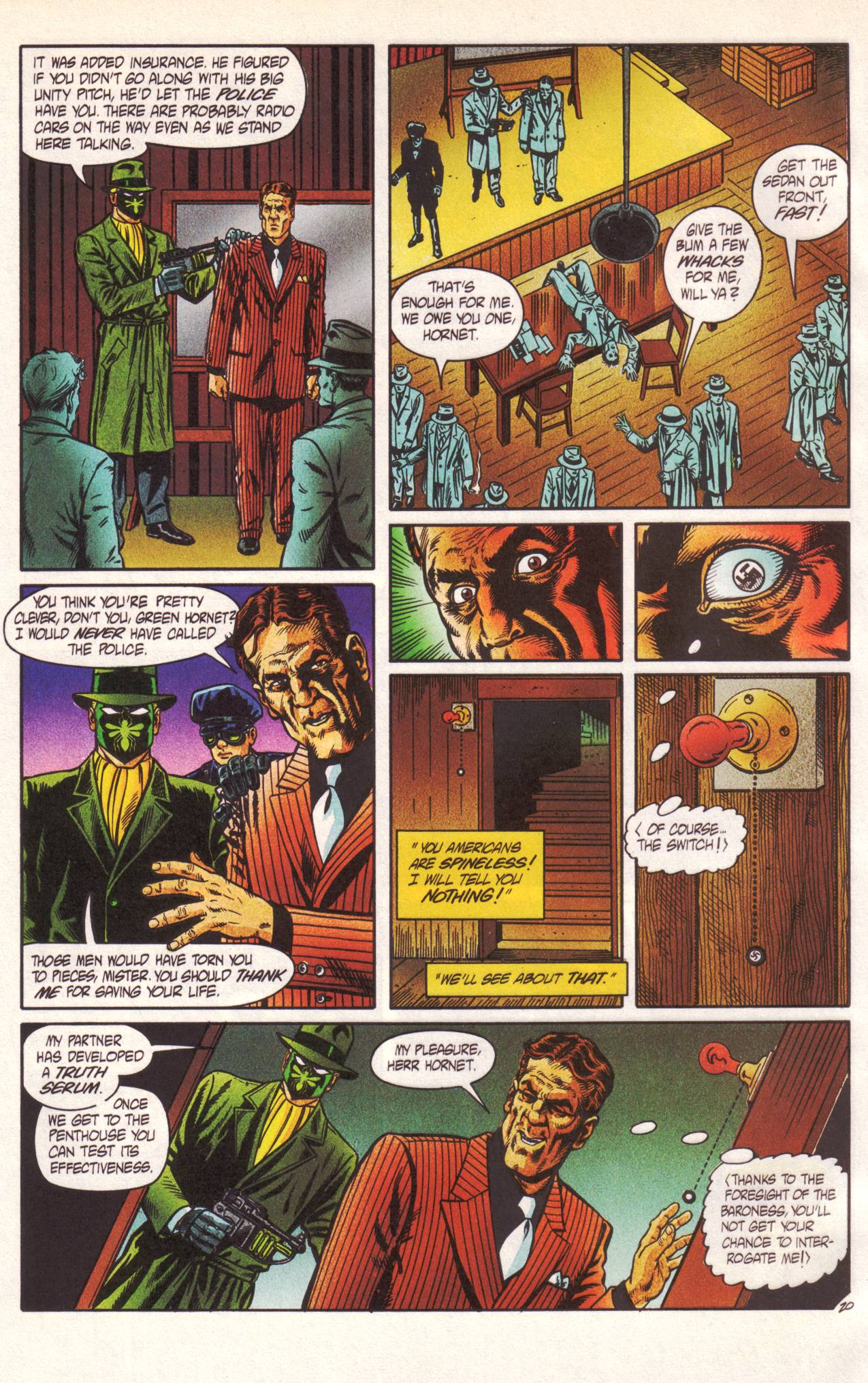 Read online Sting of The Green Hornet comic -  Issue #1 - 21