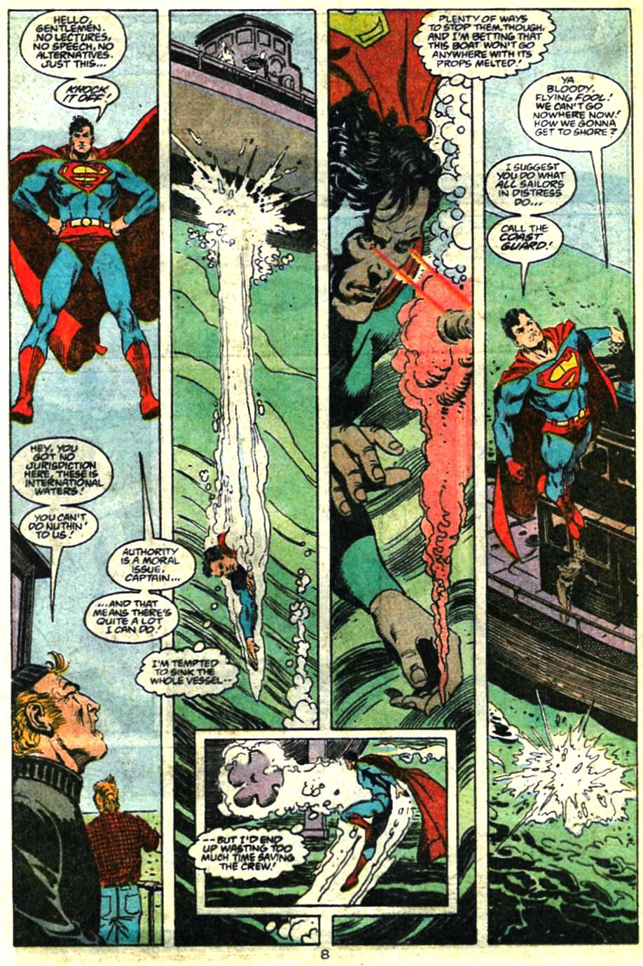 Read online Adventures of Superman (1987) comic -  Issue #460 - 9