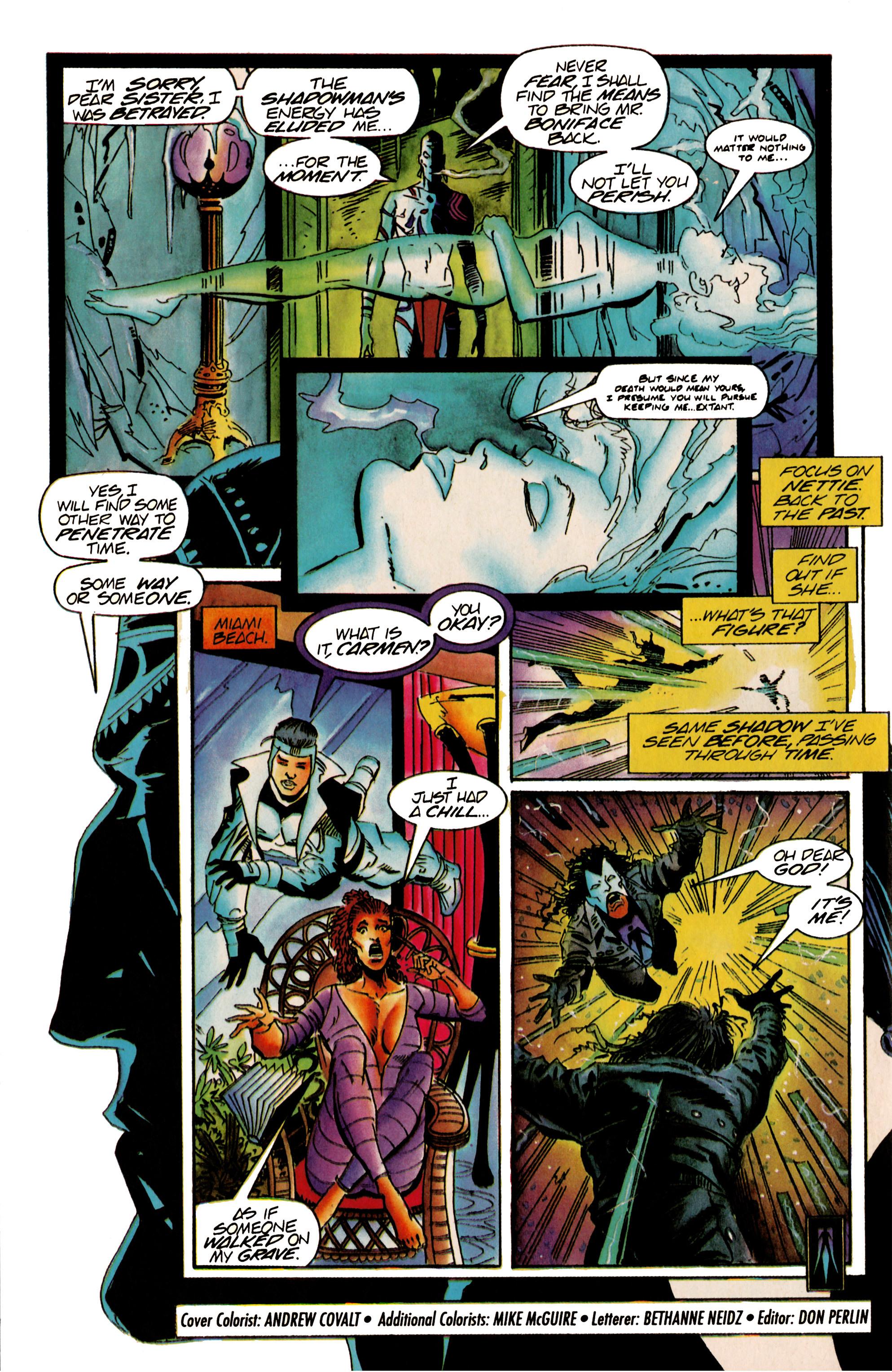 Read online Shadowman (1992) comic -  Issue #22 - 22