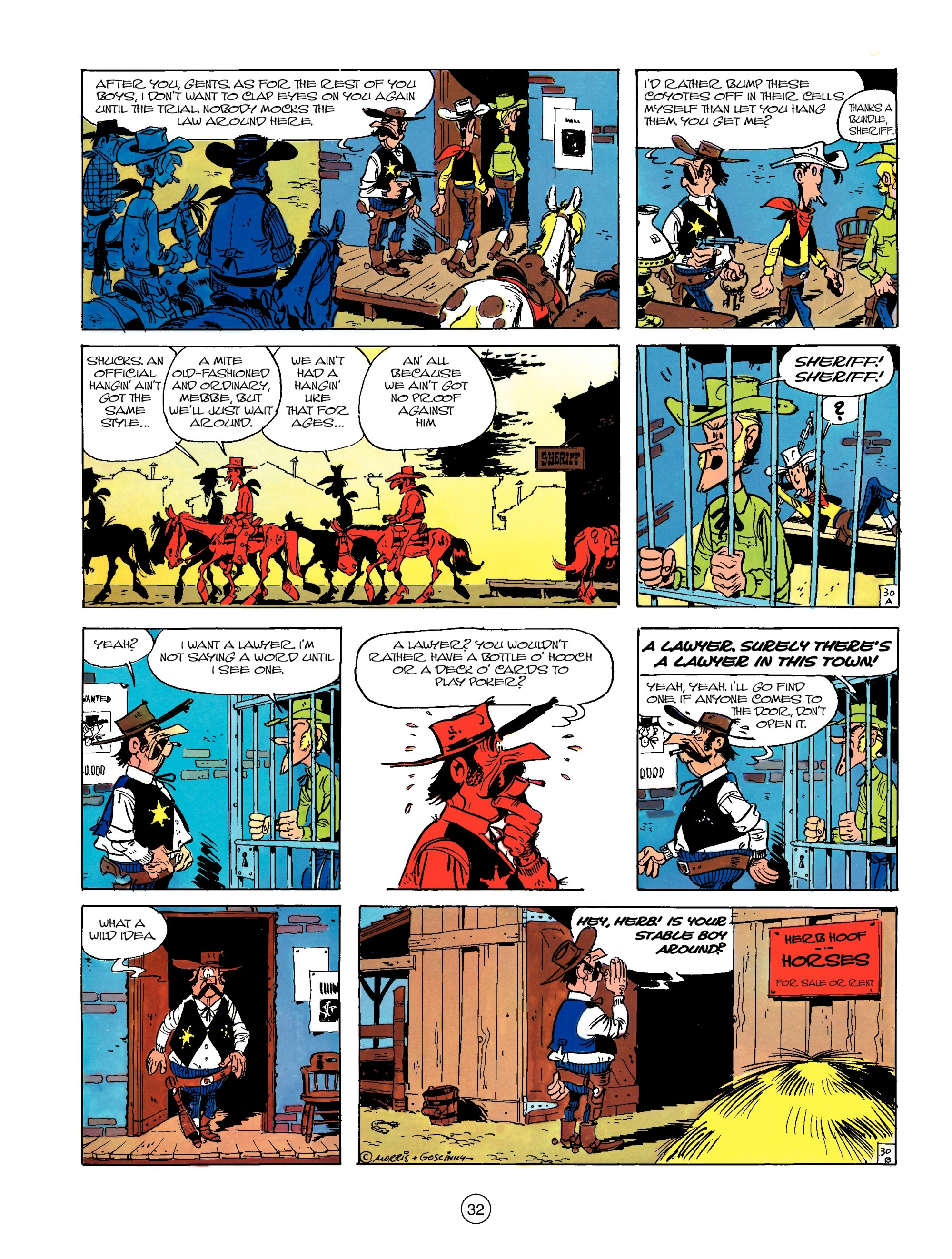 Read online A Lucky Luke Adventure comic -  Issue #13 - 32