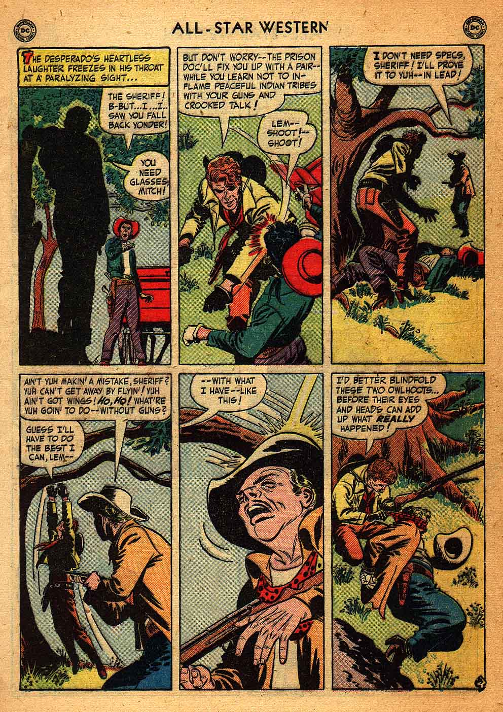Read online All-Star Western (1951) comic -  Issue #58 - 5