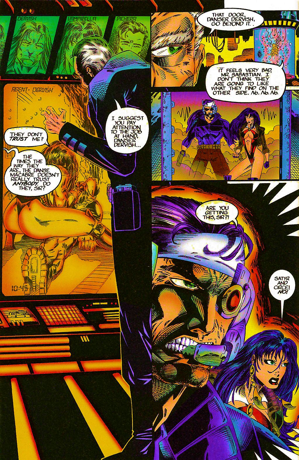 Read online Chains of Chaos comic -  Issue #1 - 8