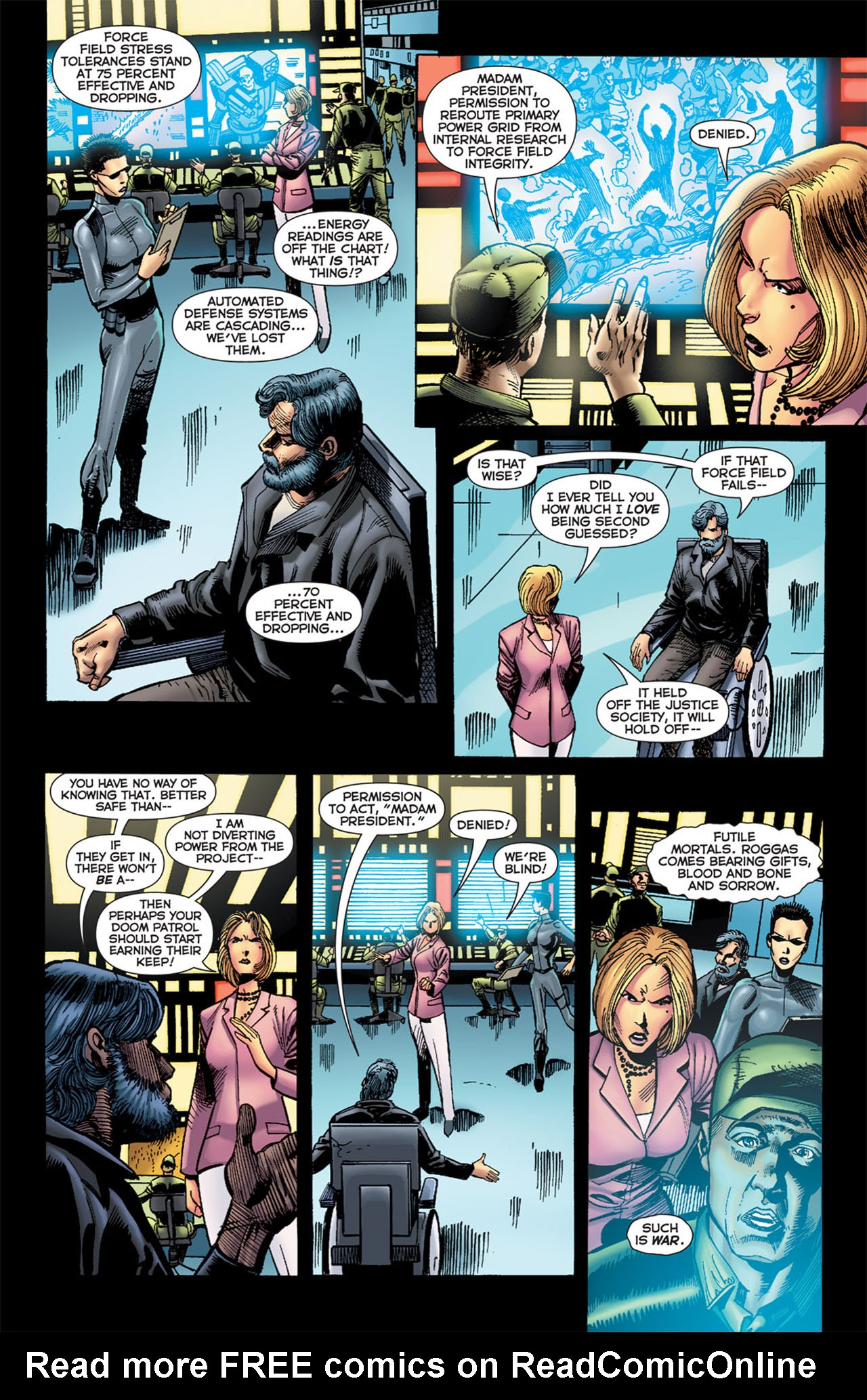 Read online 52 Aftermath: The Four Horsemen comic -  Issue #5 - 5