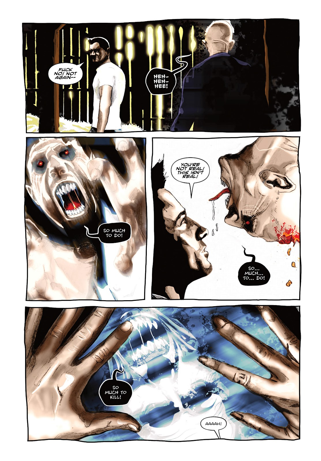 Read online Cursed Land comic -  Issue #2 - 11