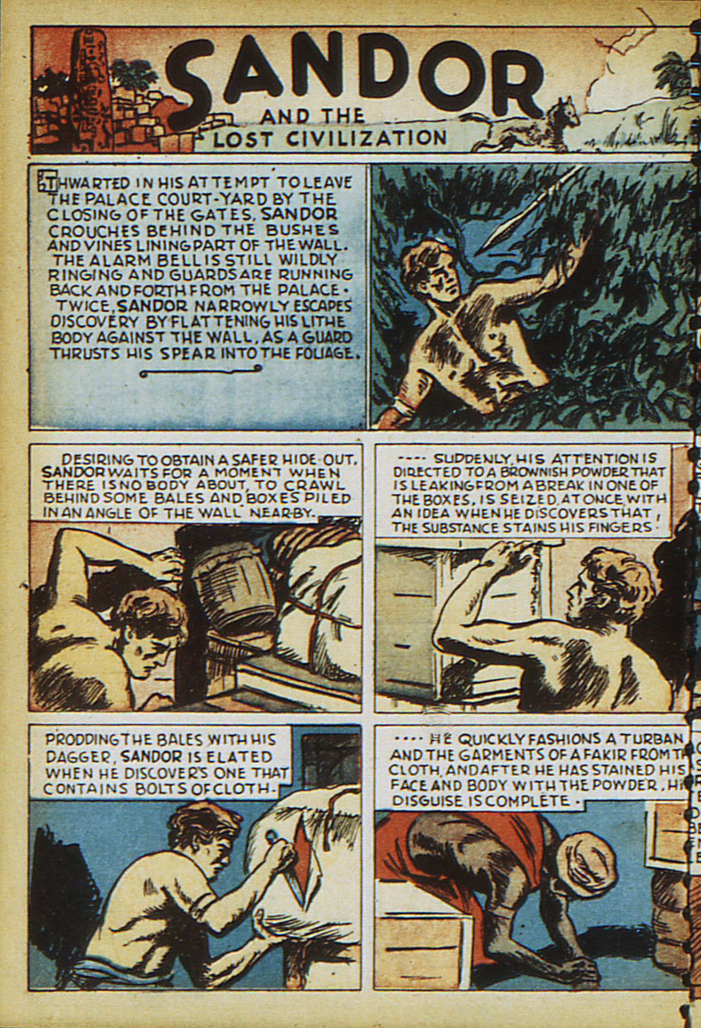 Read online Adventure Comics (1938) comic -  Issue #15 - 54