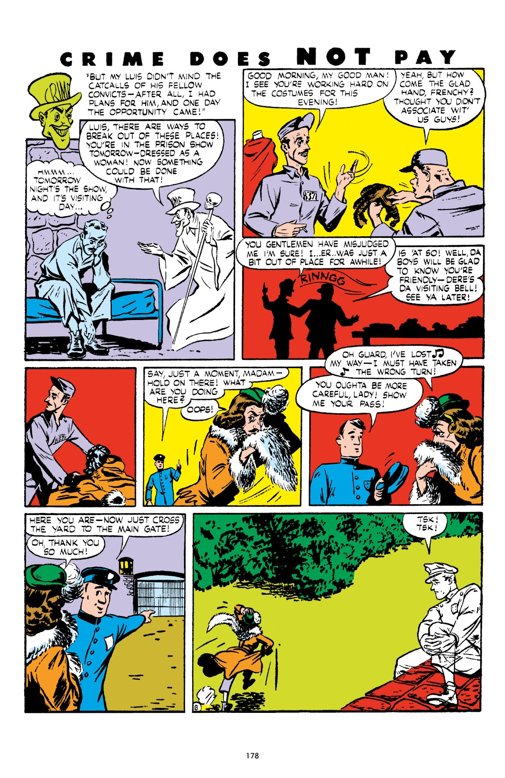 Read online Crime Does Not Pay Archives comic -  Issue # TPB 5 (Part 2) - 78