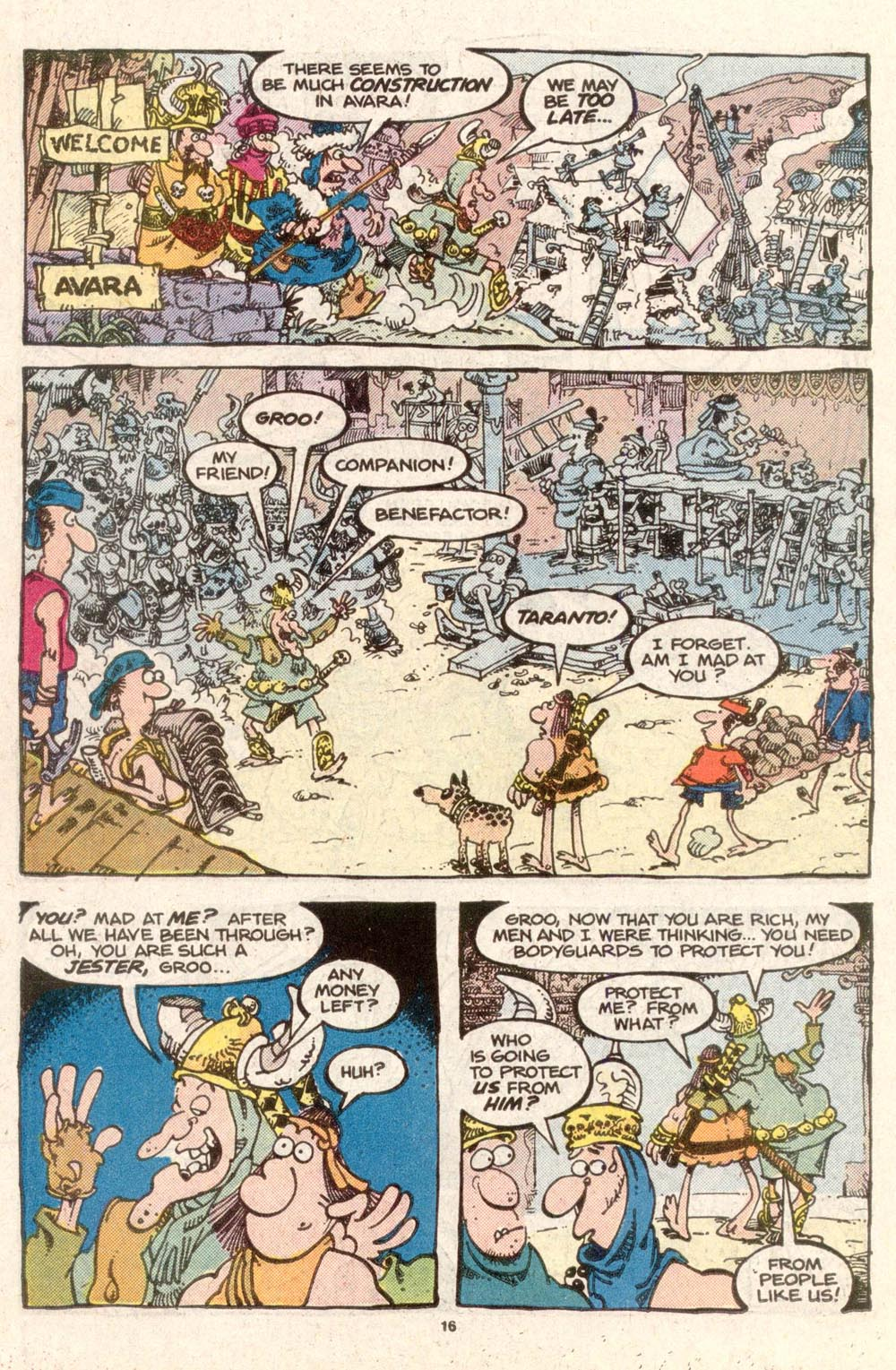 Read online Sergio Aragonés Groo the Wanderer comic -  Issue #32 - 16