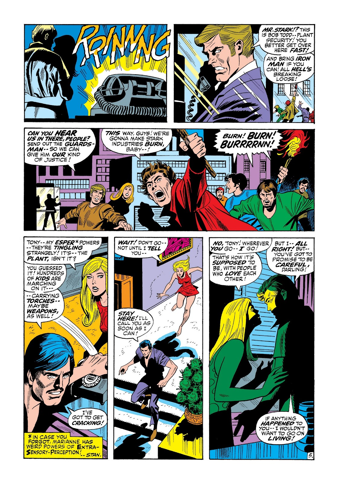 Read online Marvel Masterworks: The Invincible Iron Man comic -  Issue # TPB 8 (Part 2) - 49