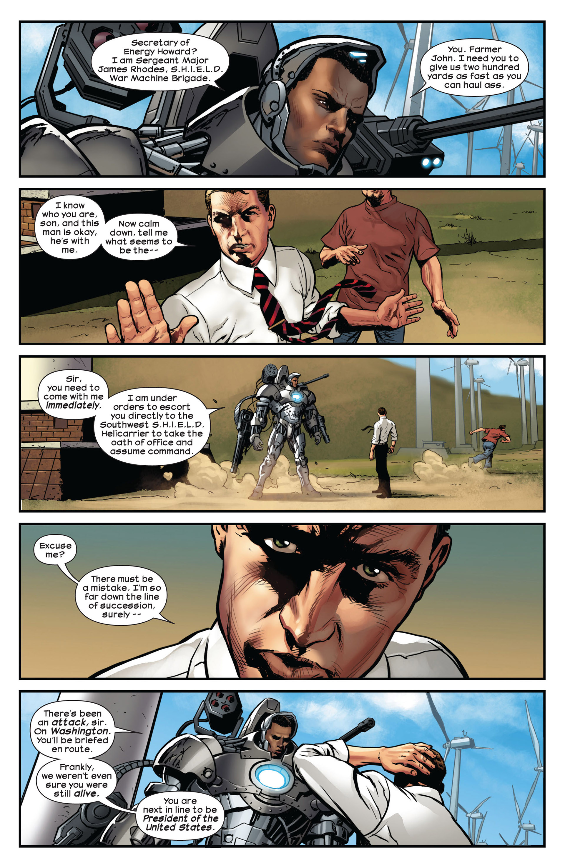 Read online Ultimate Comics Ultimates comic -  Issue #10 - 4