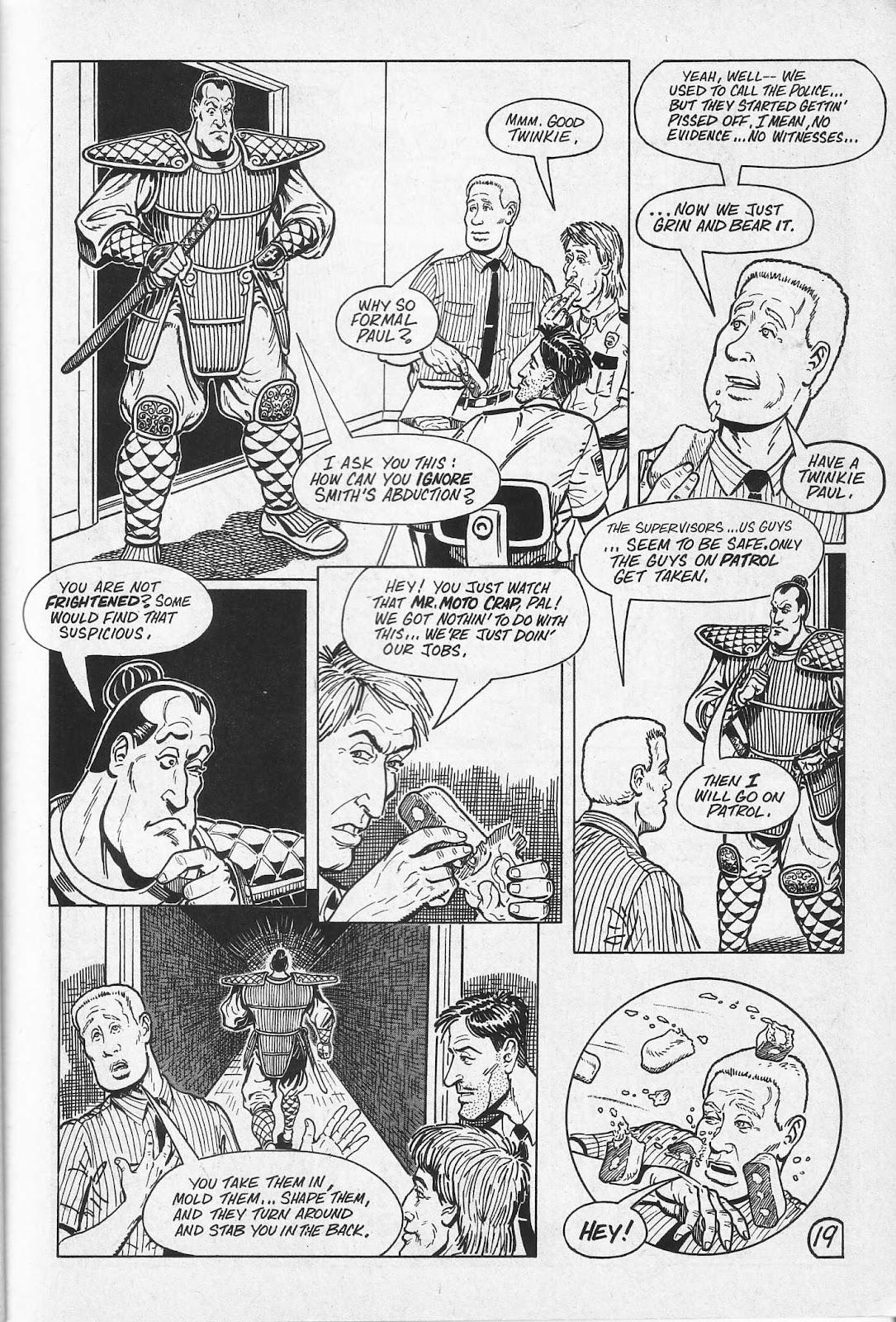 Read online Paul the Samurai (1991) comic -  Issue # TPB - 25