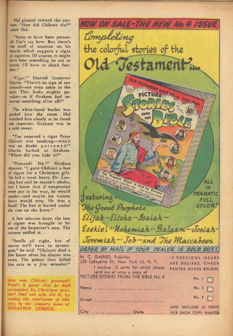 Read online Sensation (Mystery) Comics comic -  Issue #24 - 41