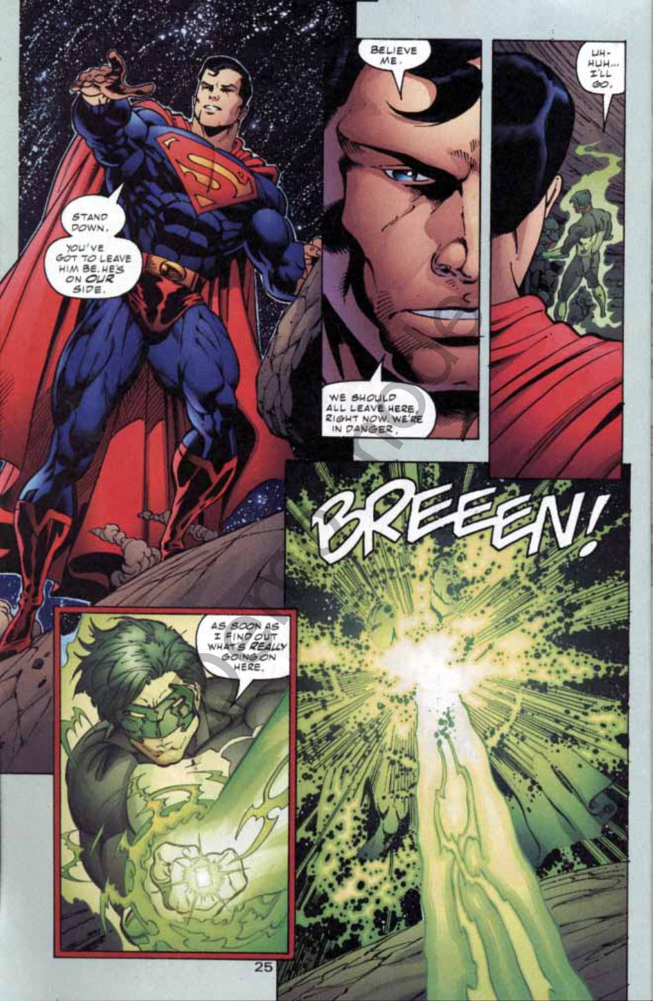 Read online Green Lantern: Our Worlds At War comic -  Issue # Full - 24