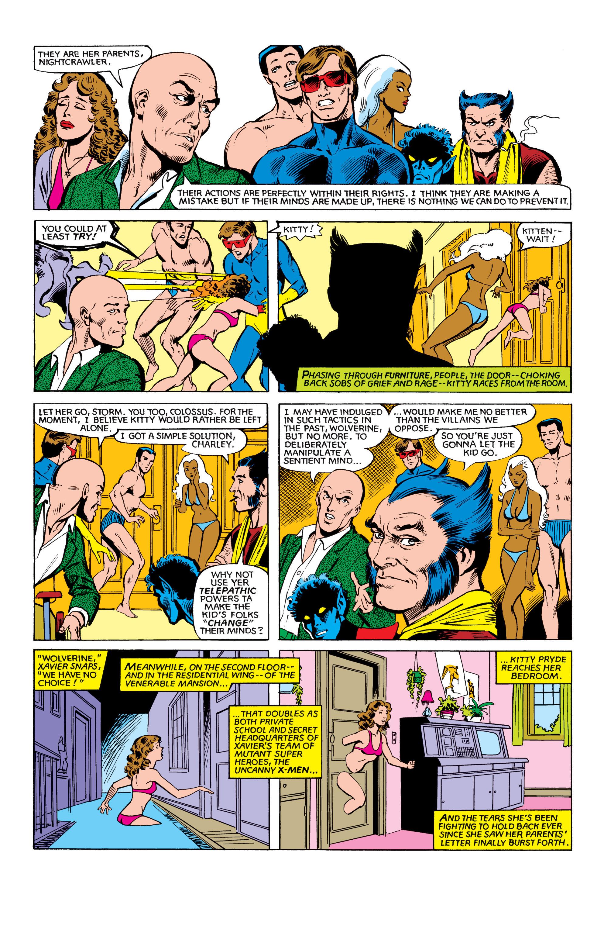 Read online Uncanny X-Men (1963) comic -  Issue #151 - 3
