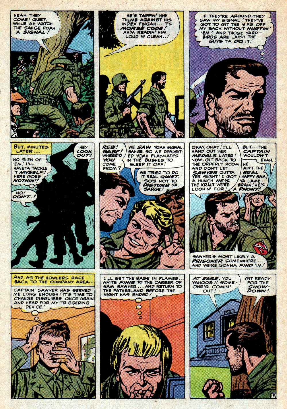 Read online Sgt. Fury comic -  Issue #85 - 20