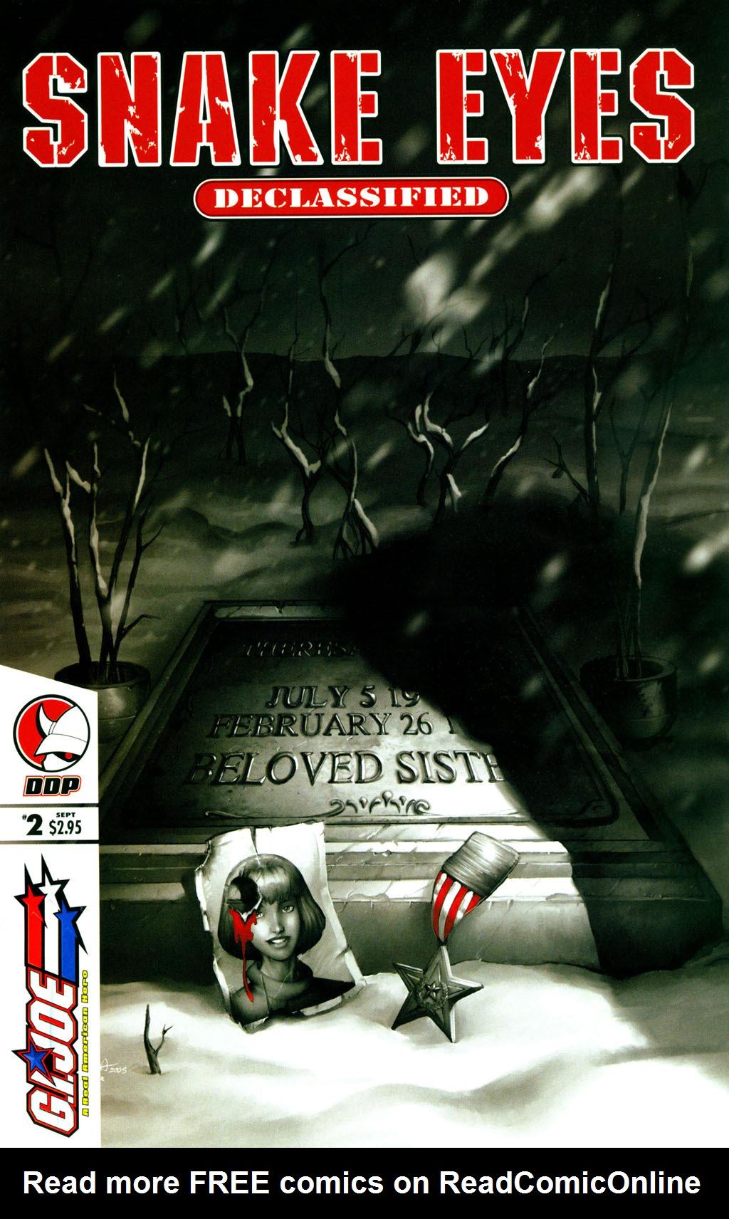 Read online Snake Eyes: Declassified comic -  Issue #2 - 1