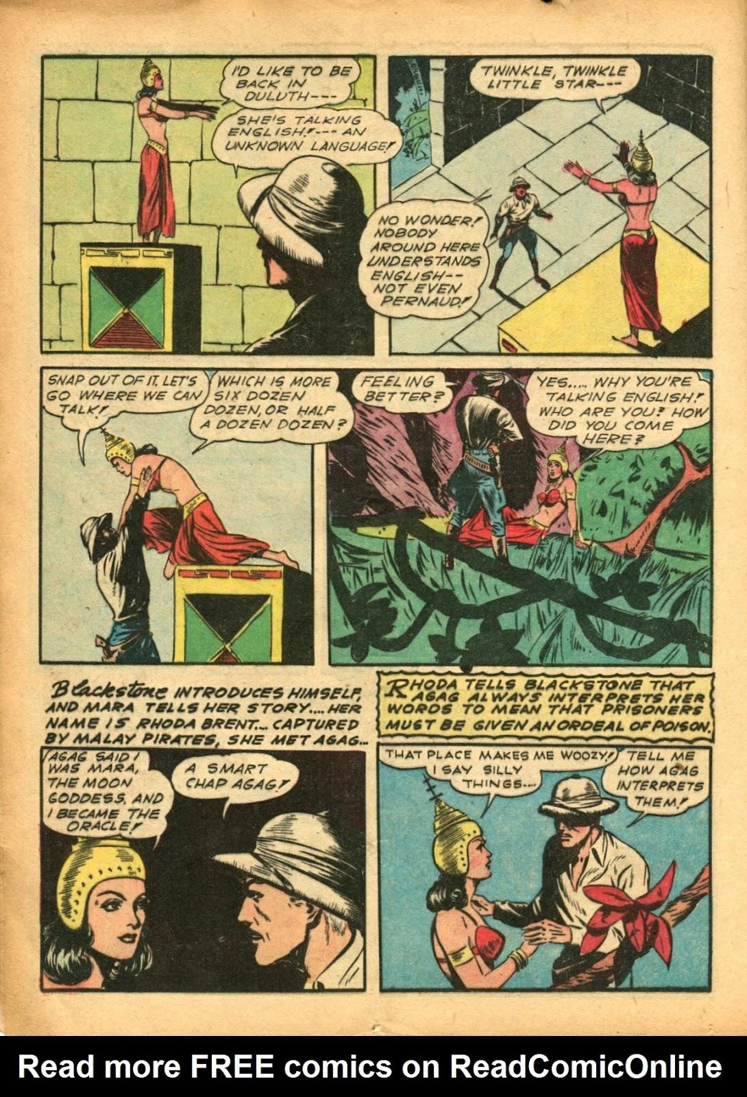 Read online Super-Magician Comics comic -  Issue #5 - 20