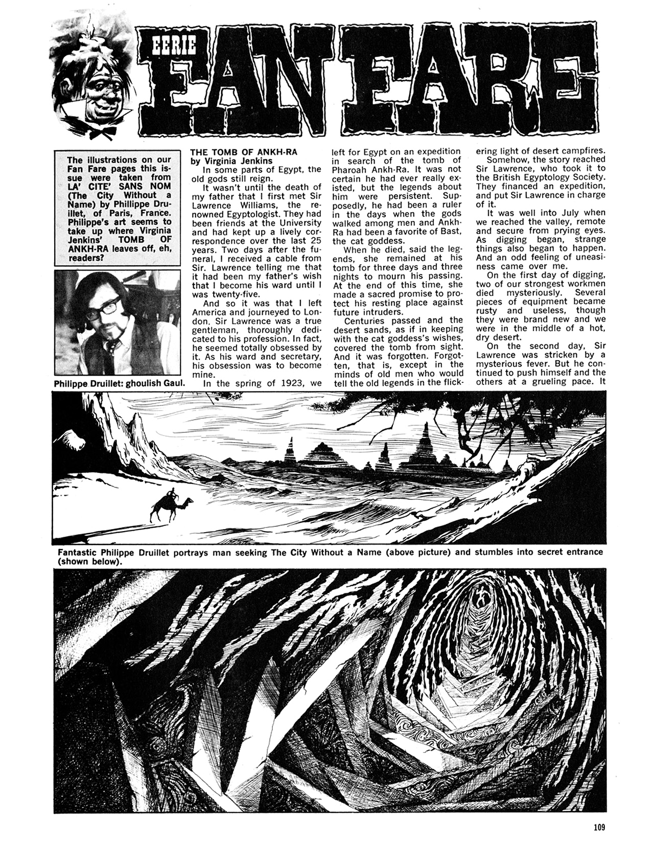 Read online Eerie Archives comic -  Issue # TPB 6 - 109