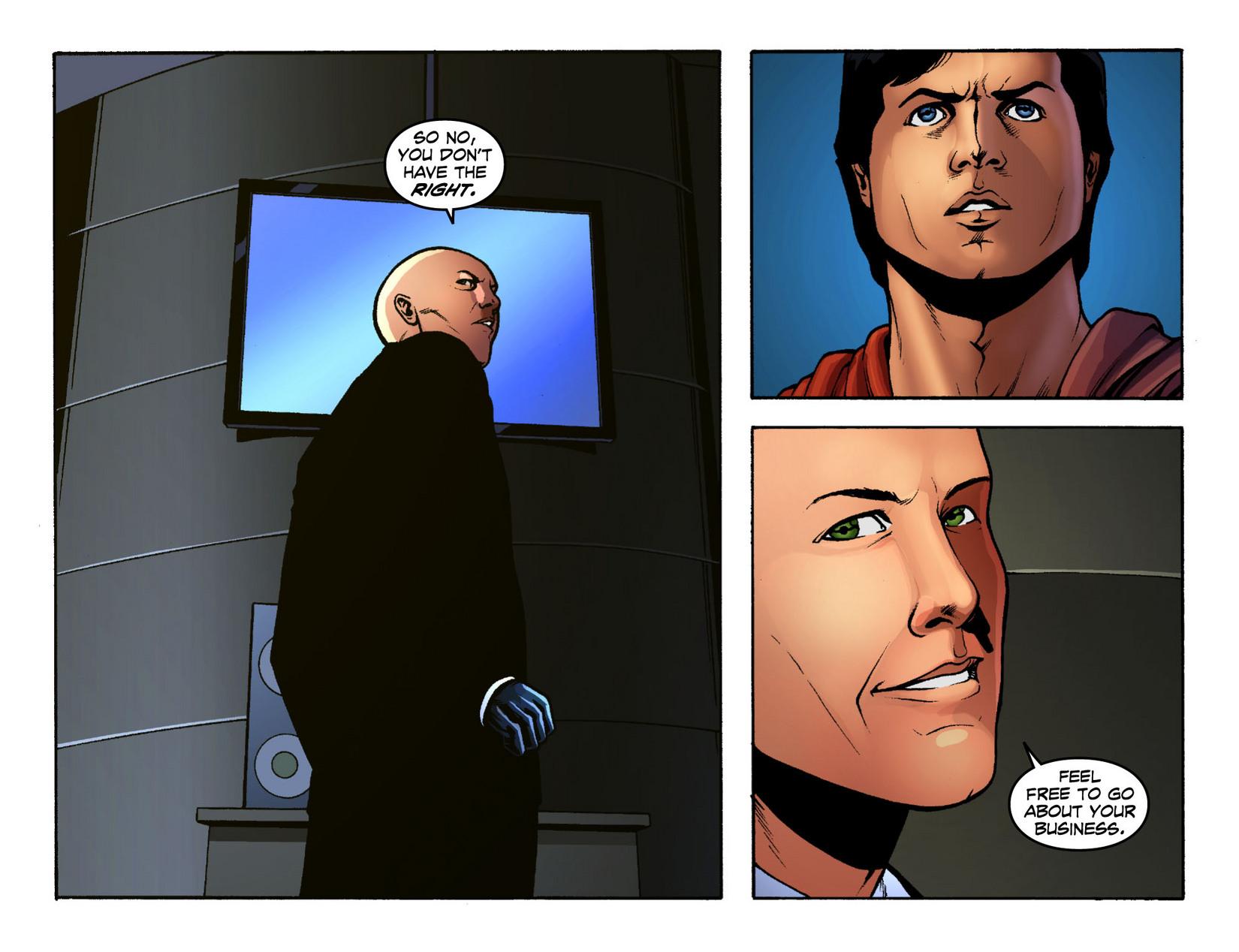Read online Smallville: Season 11 comic -  Issue #12 - 9
