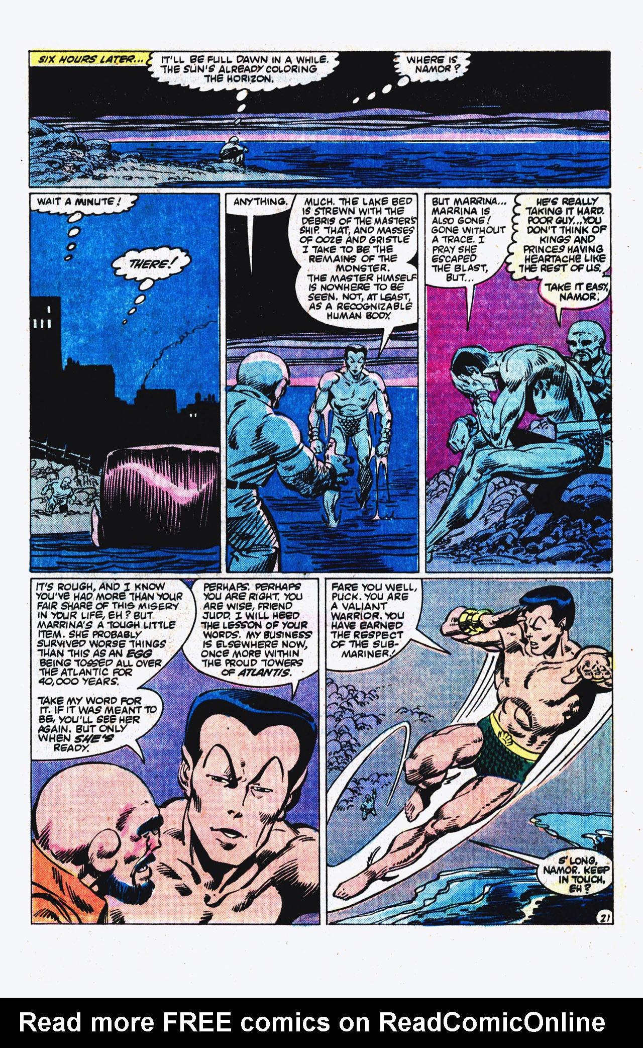 Read online Alpha Flight (1983) comic -  Issue #16 - 22