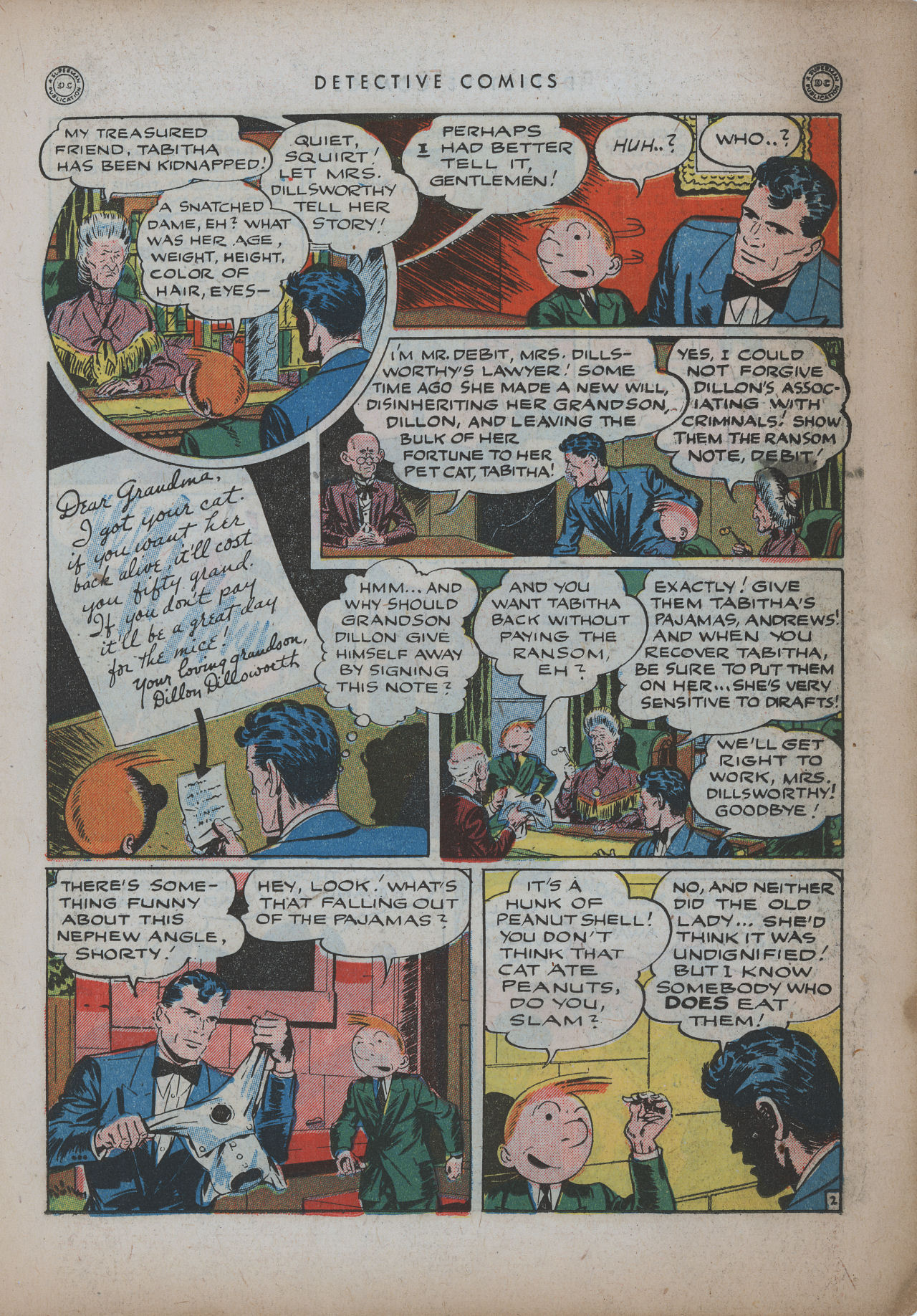 Read online Detective Comics (1937) comic -  Issue #94 - 23