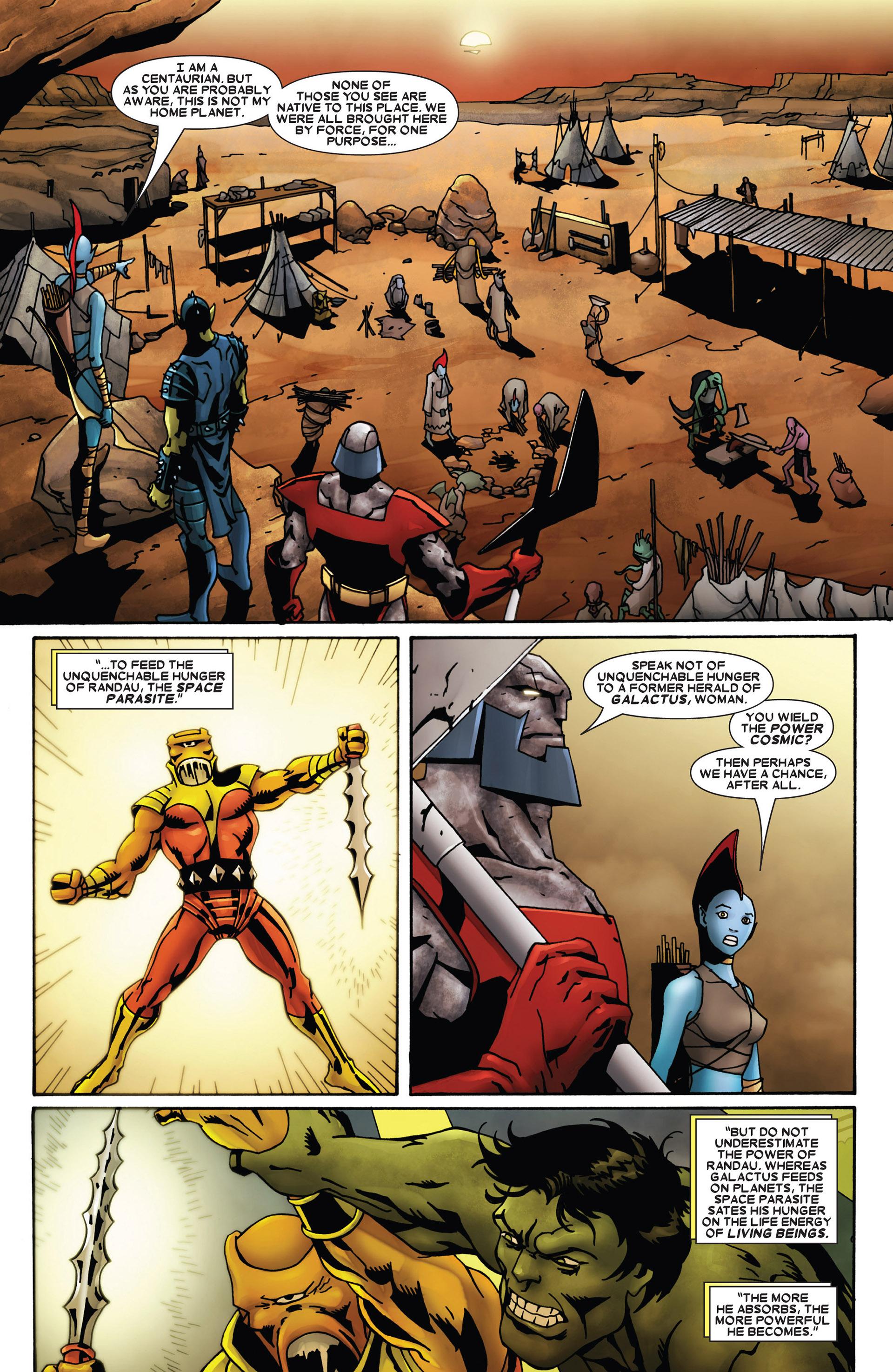 Read online Annihilation: Heralds Of Galactus comic -  Issue #1 - 8
