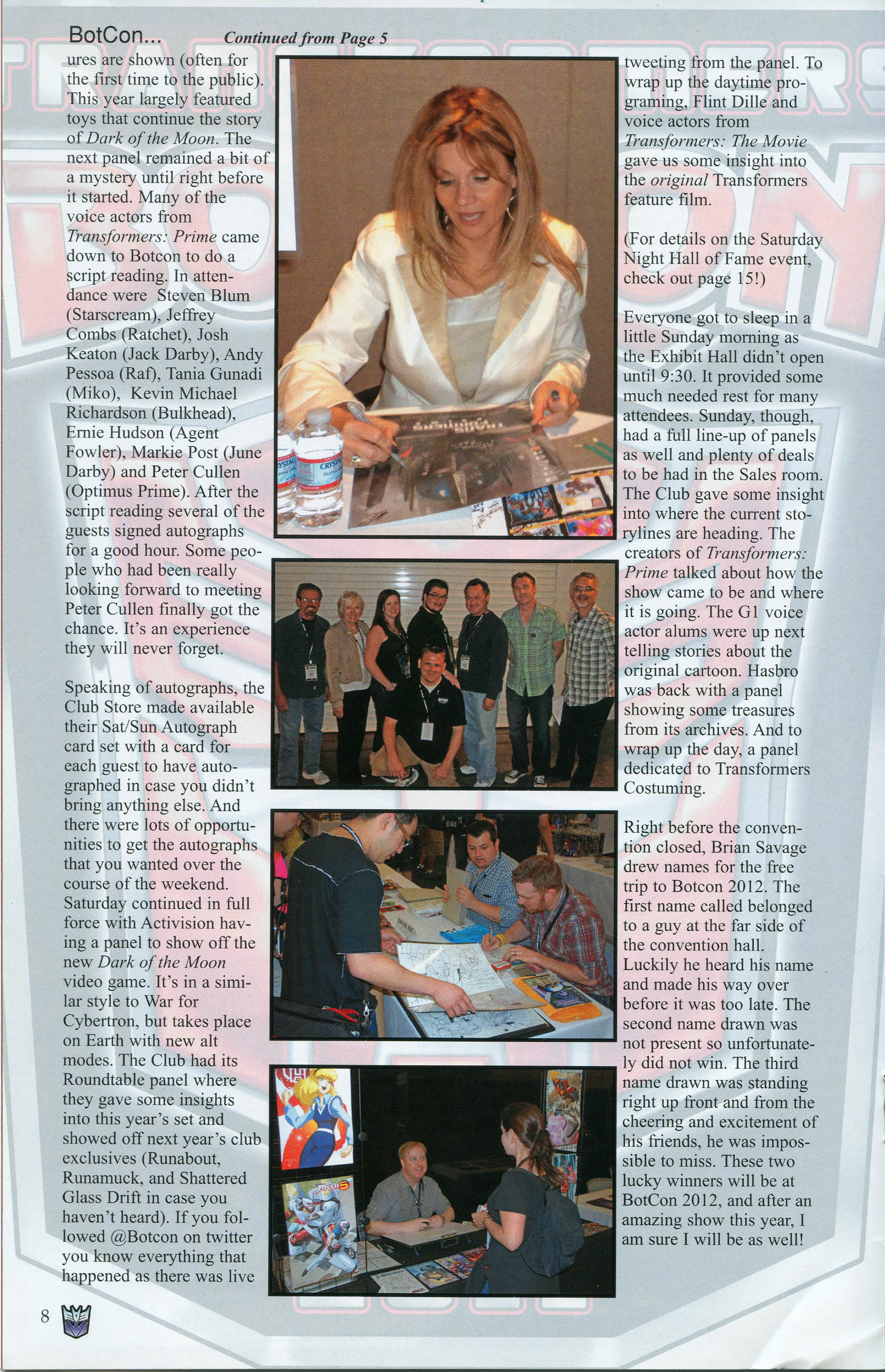 Read online Transformers: Collectors' Club comic -  Issue #40 - 8