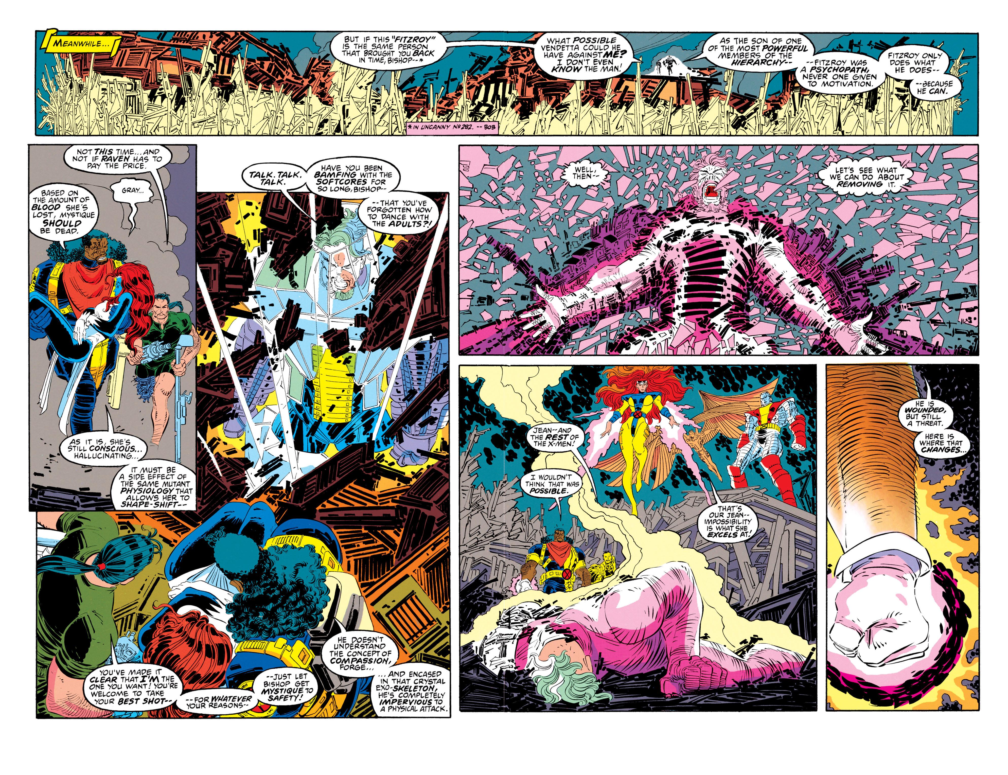 Read online Uncanny X-Men (1963) comic -  Issue #302 - 14