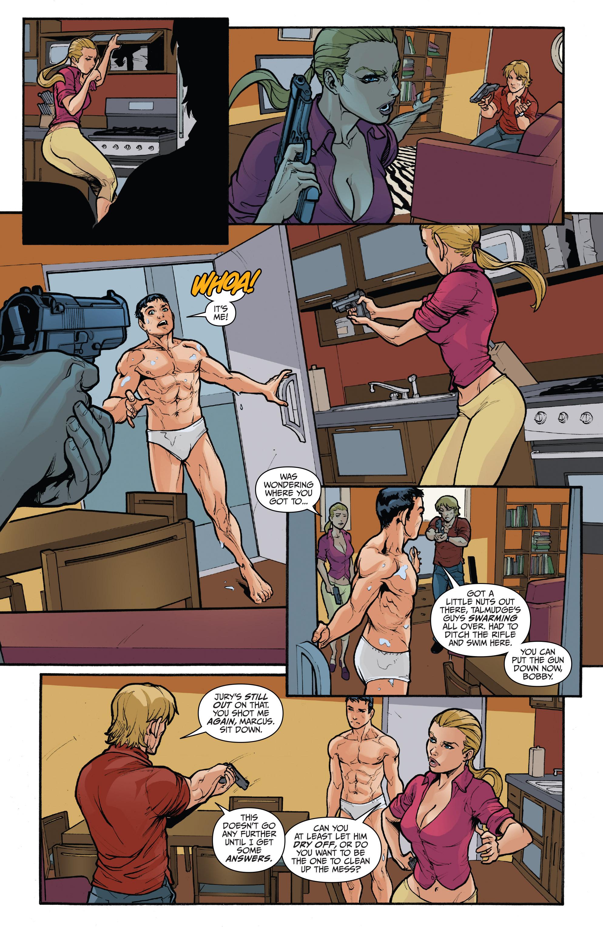 Read online 3 Guns comic -  Issue #5 - 10