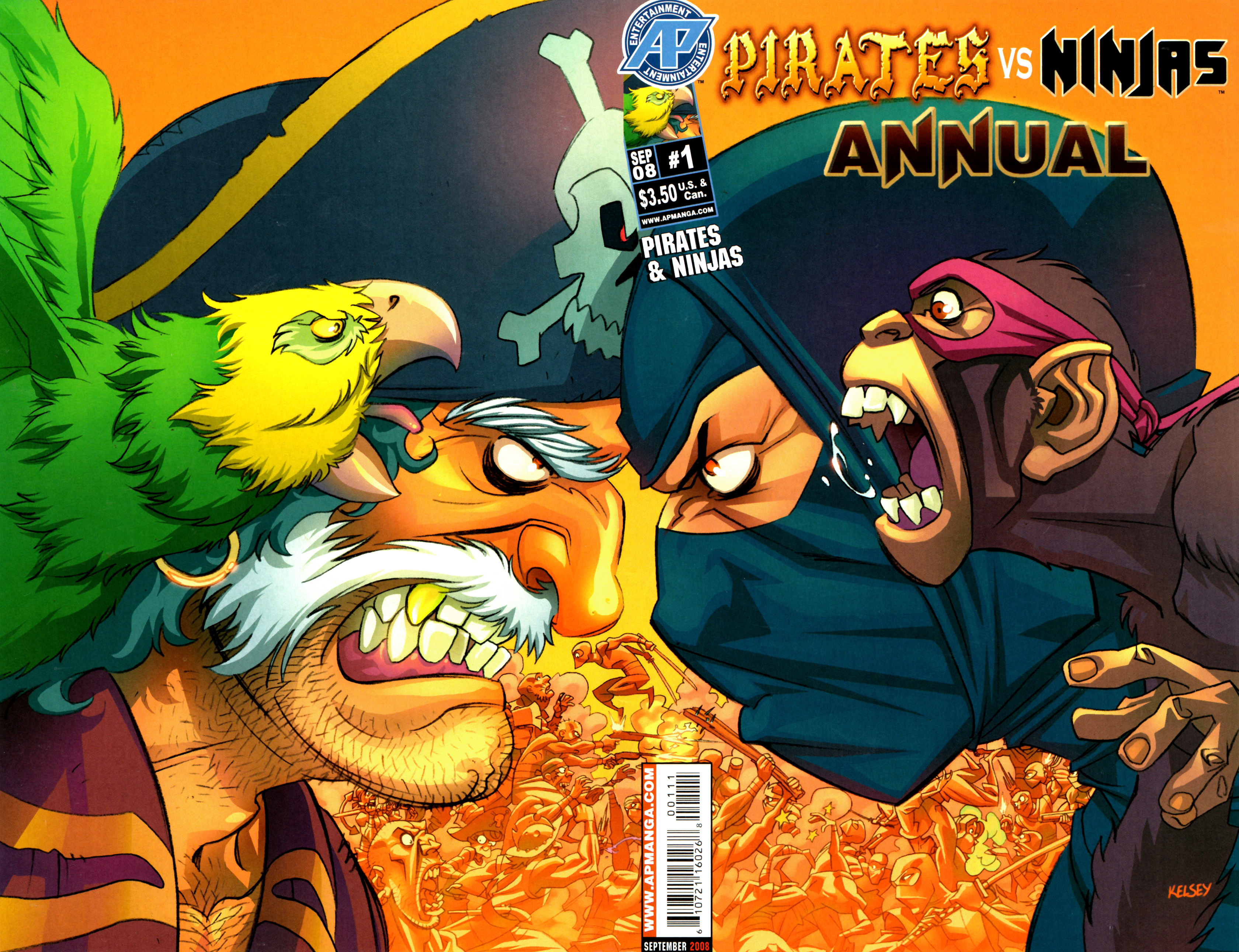 Pirates vs. Ninjas issue Annual 1 - Page 1