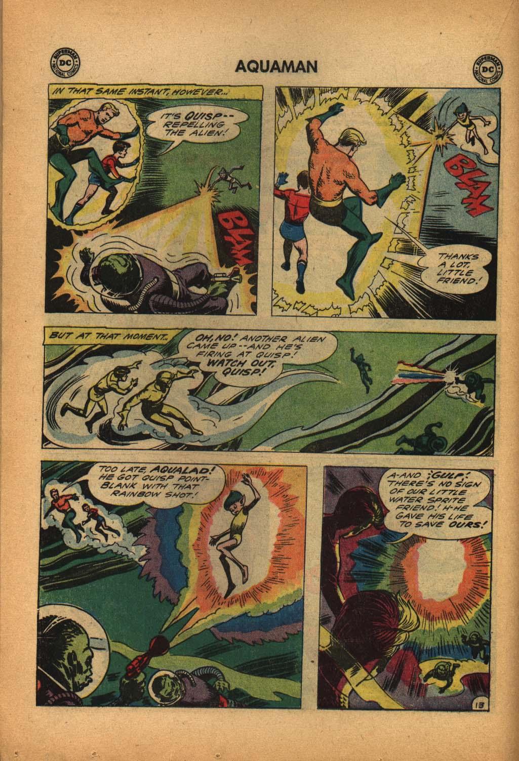 Read online Aquaman (1962) comic -  Issue #4 - 18