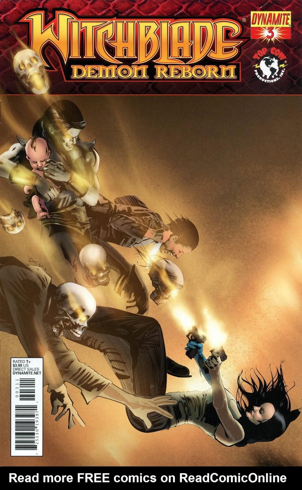 Witchblade: Demon Reborn 3 Page 1