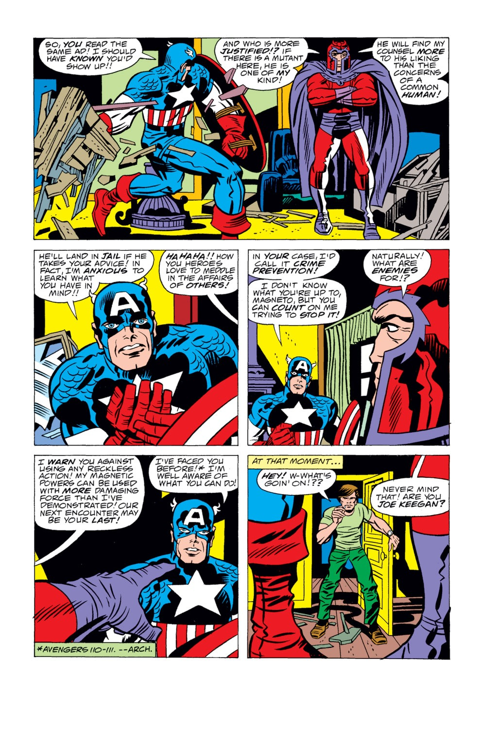 Read online Captain America (1968) comic -  Issue # _Annual 4 - 4