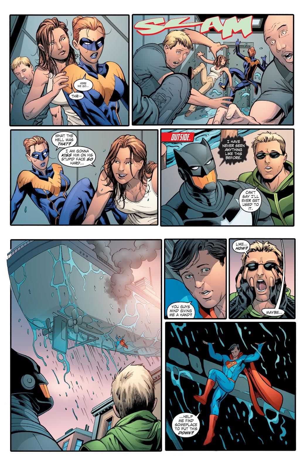 Read online Smallville Season 11 [II] comic -  Issue # TPB 2 - 126