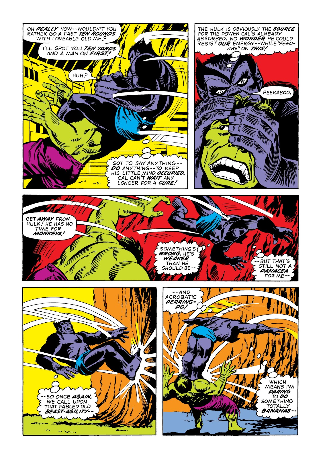 Read online Marvel Masterworks: The Incredible Hulk comic -  Issue # TPB 9 (Part 2) - 10