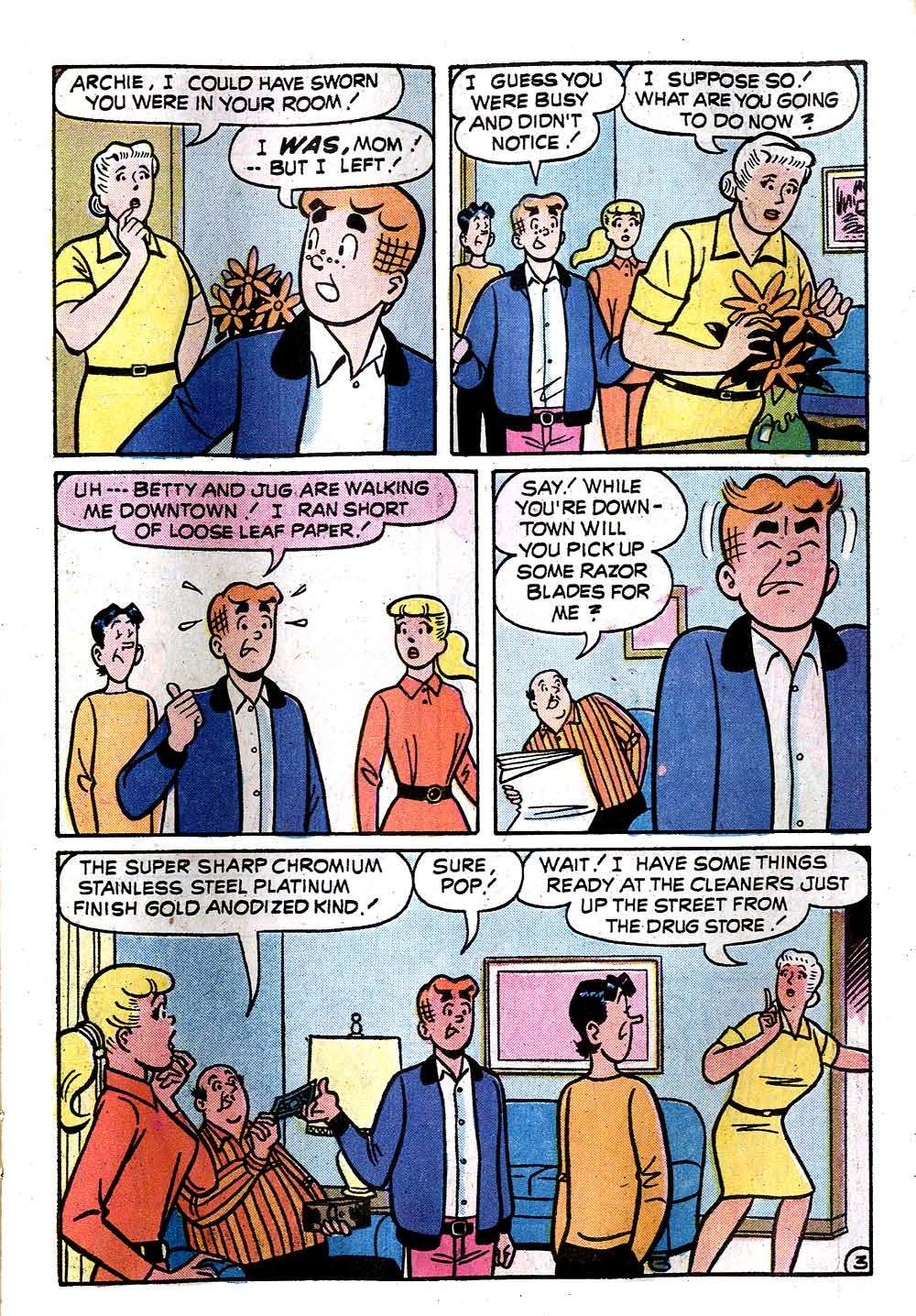 Read online Archie (1960) comic -  Issue #236 - 15