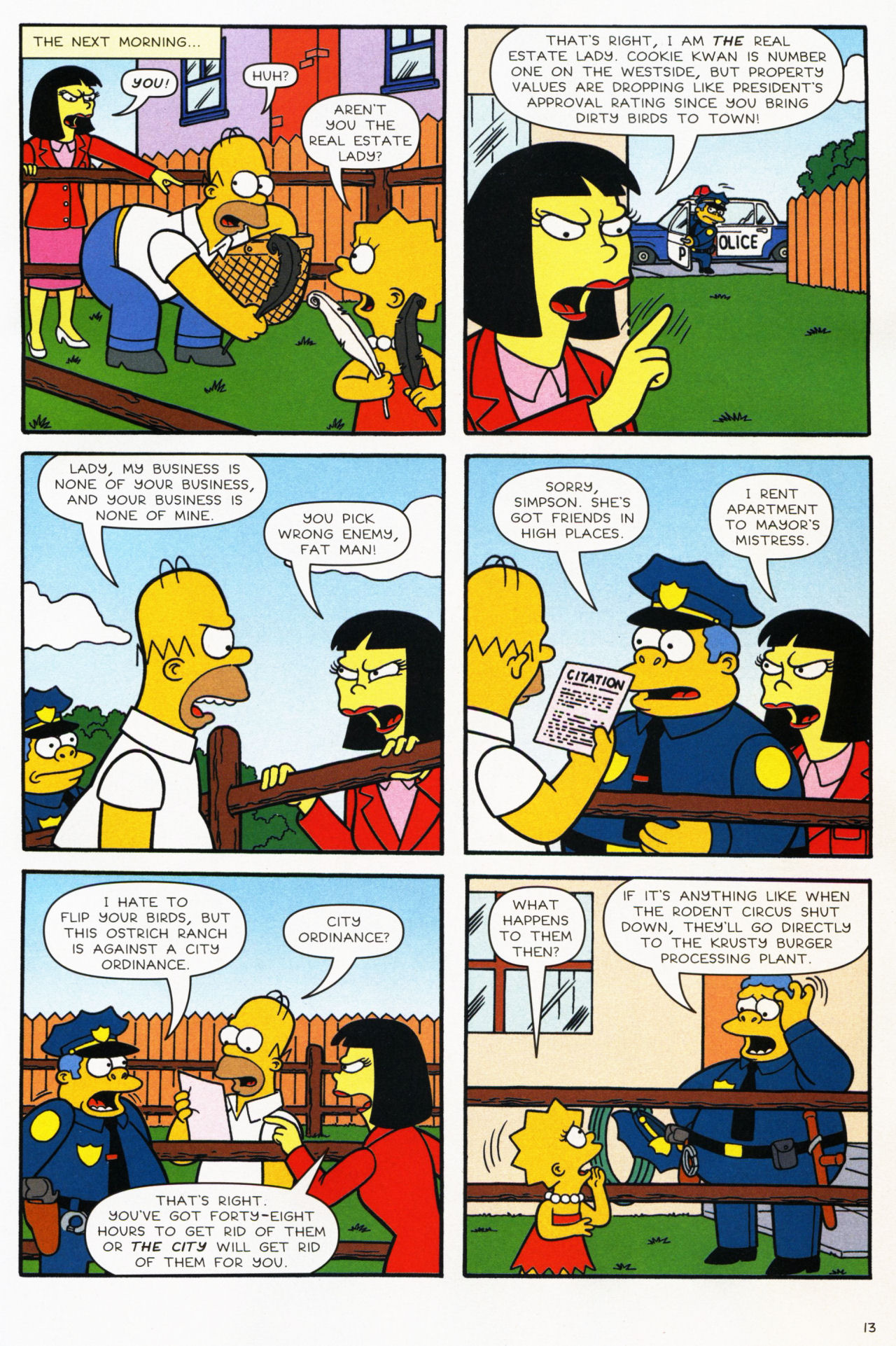 Read online Simpsons Comics comic -  Issue #139 - 13