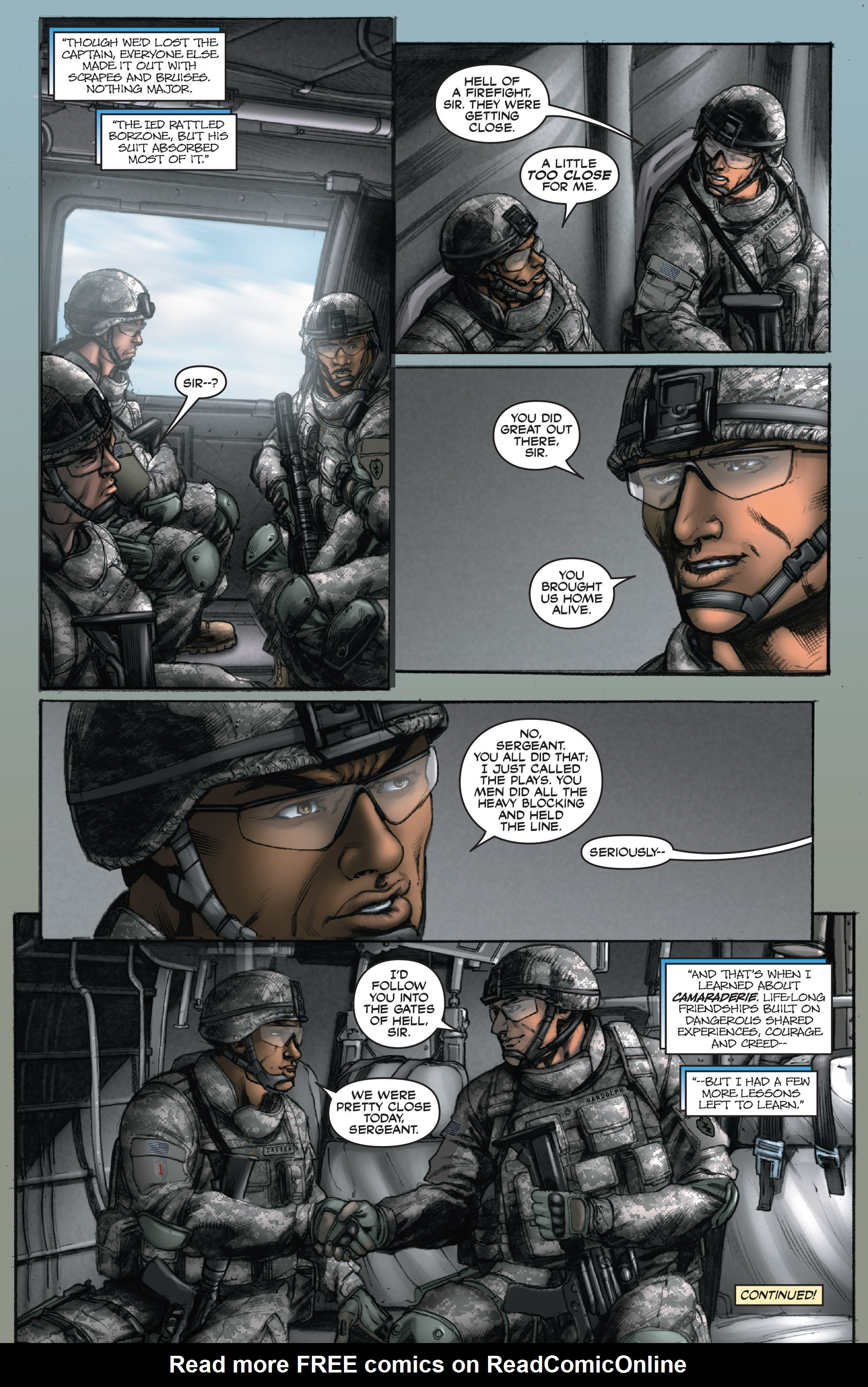 Read online America's Army comic -  Issue #14 - 22