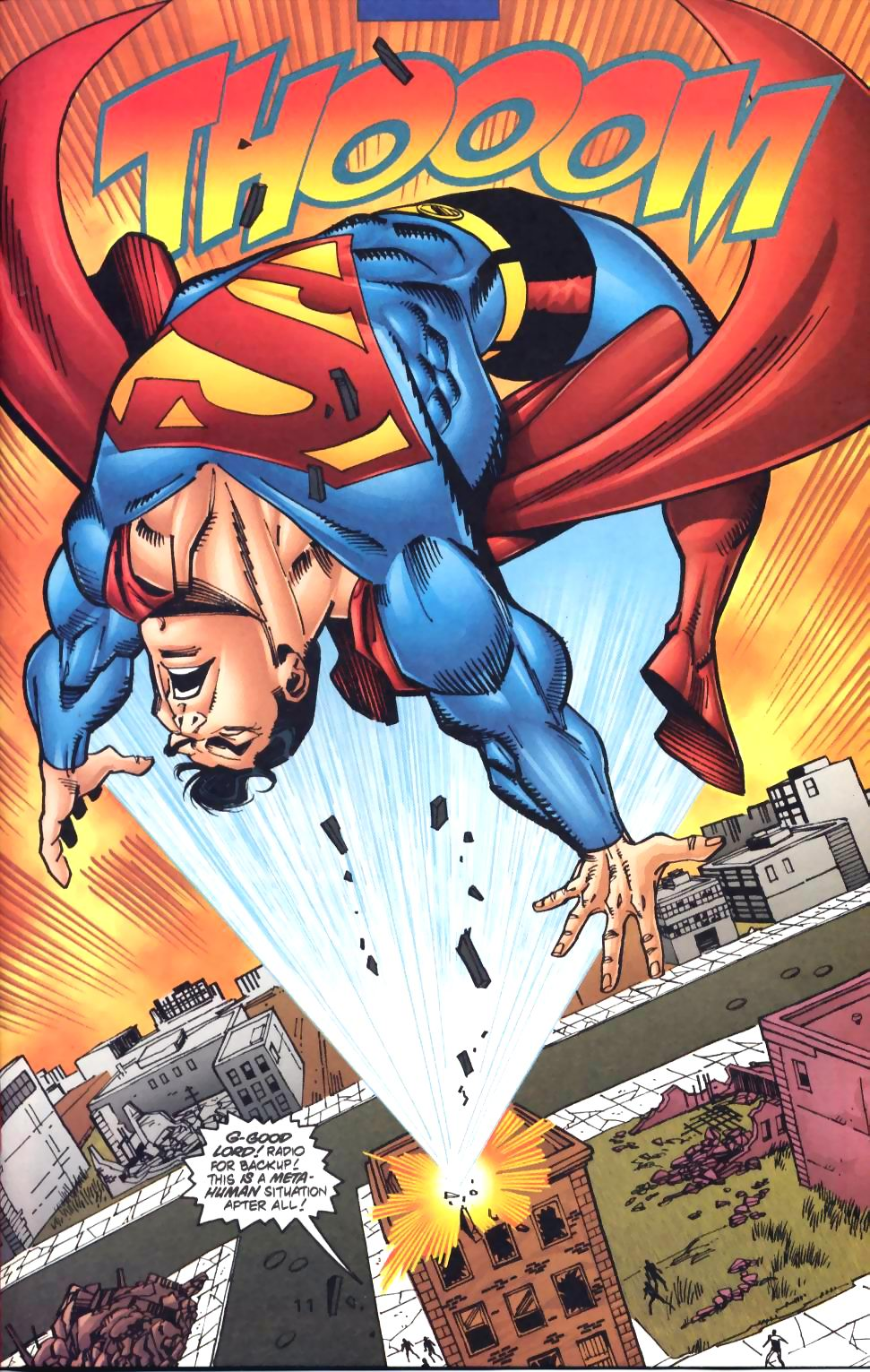 Read online Adventures of Superman (1987) comic -  Issue #572 - 12