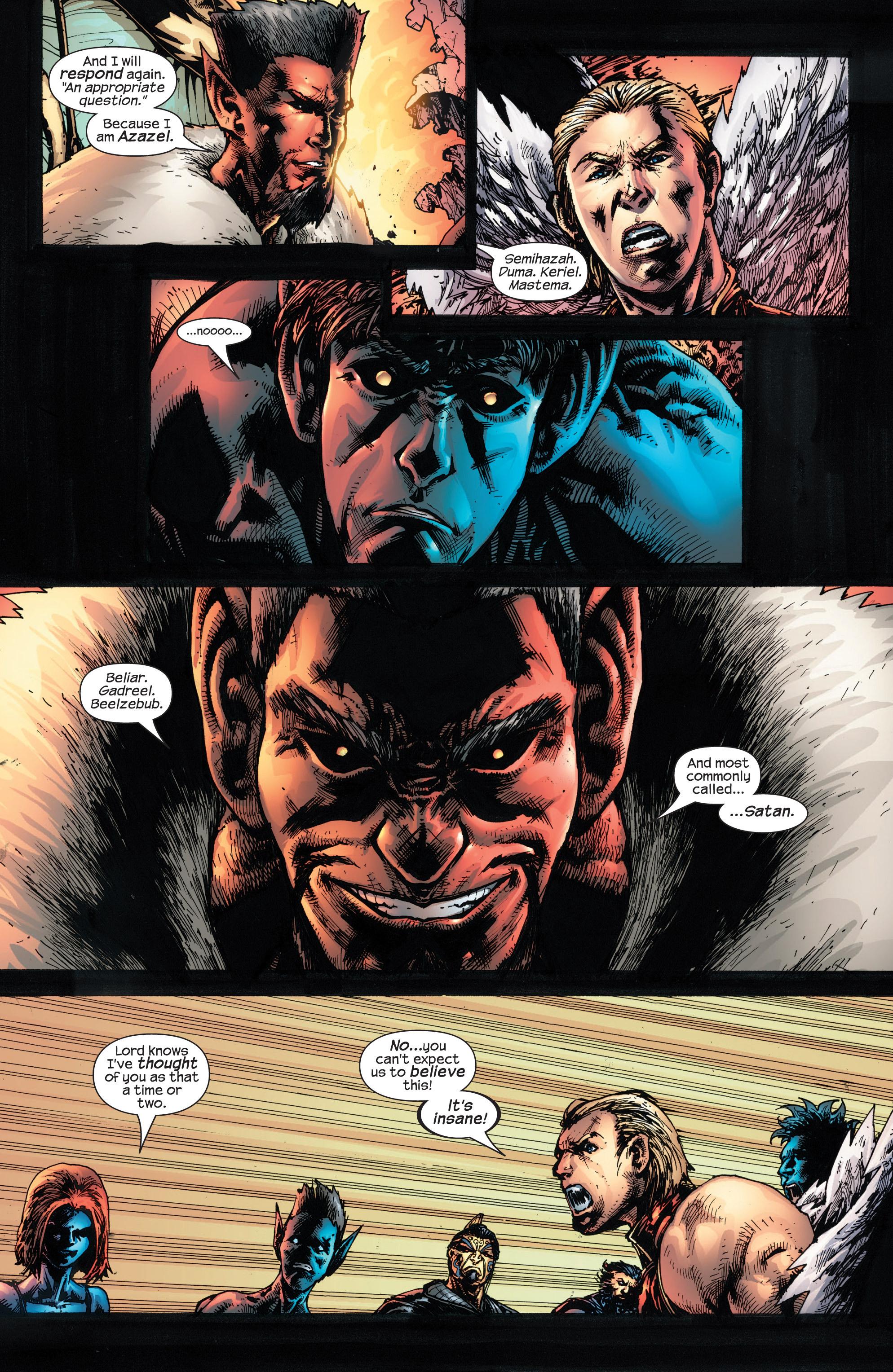 Read online Uncanny X-Men (1963) comic -  Issue #432 - 19