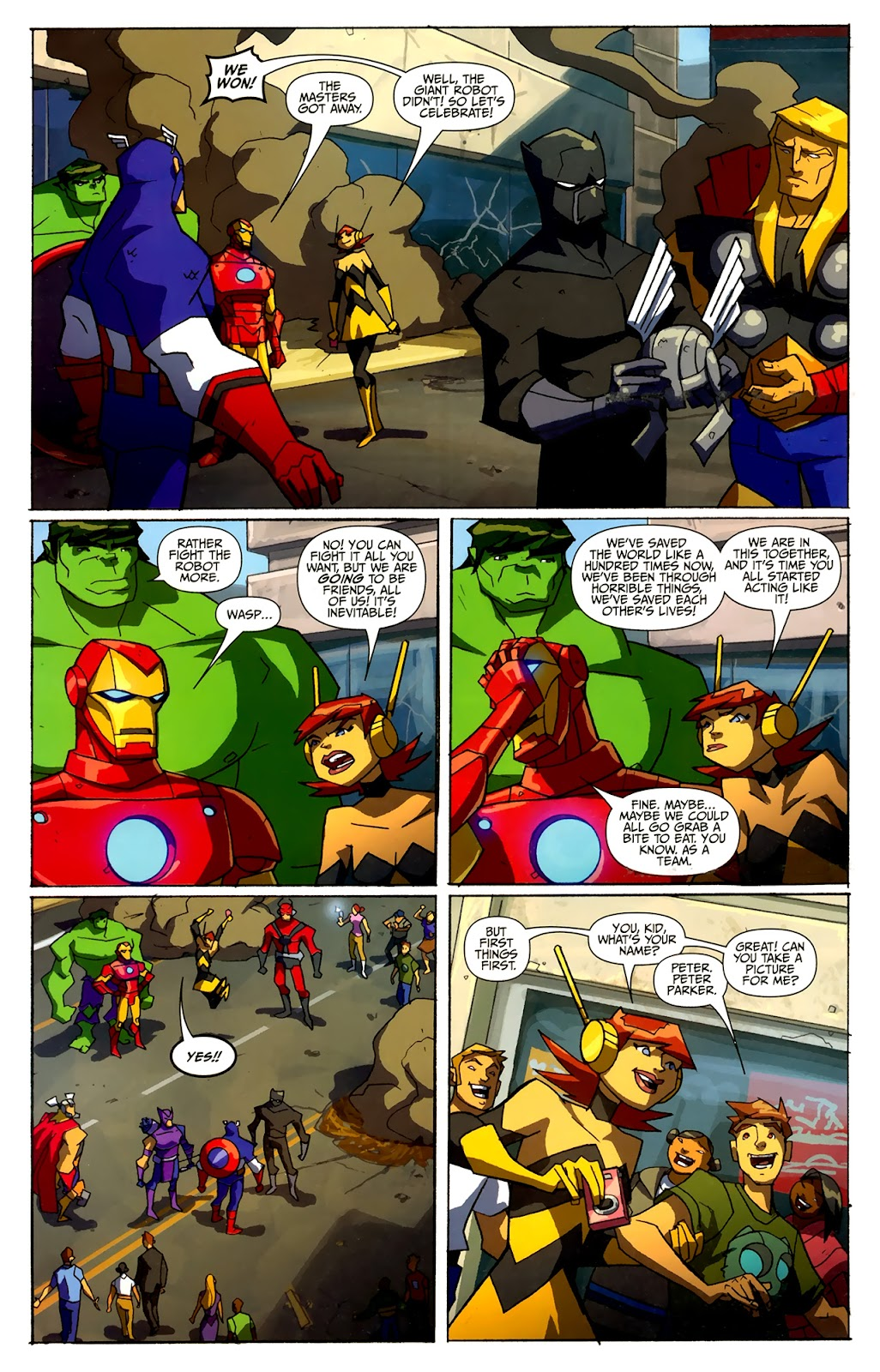 Avengers: Earth's Mightiest Heroes (2011) Issue #4 #4 - English 22