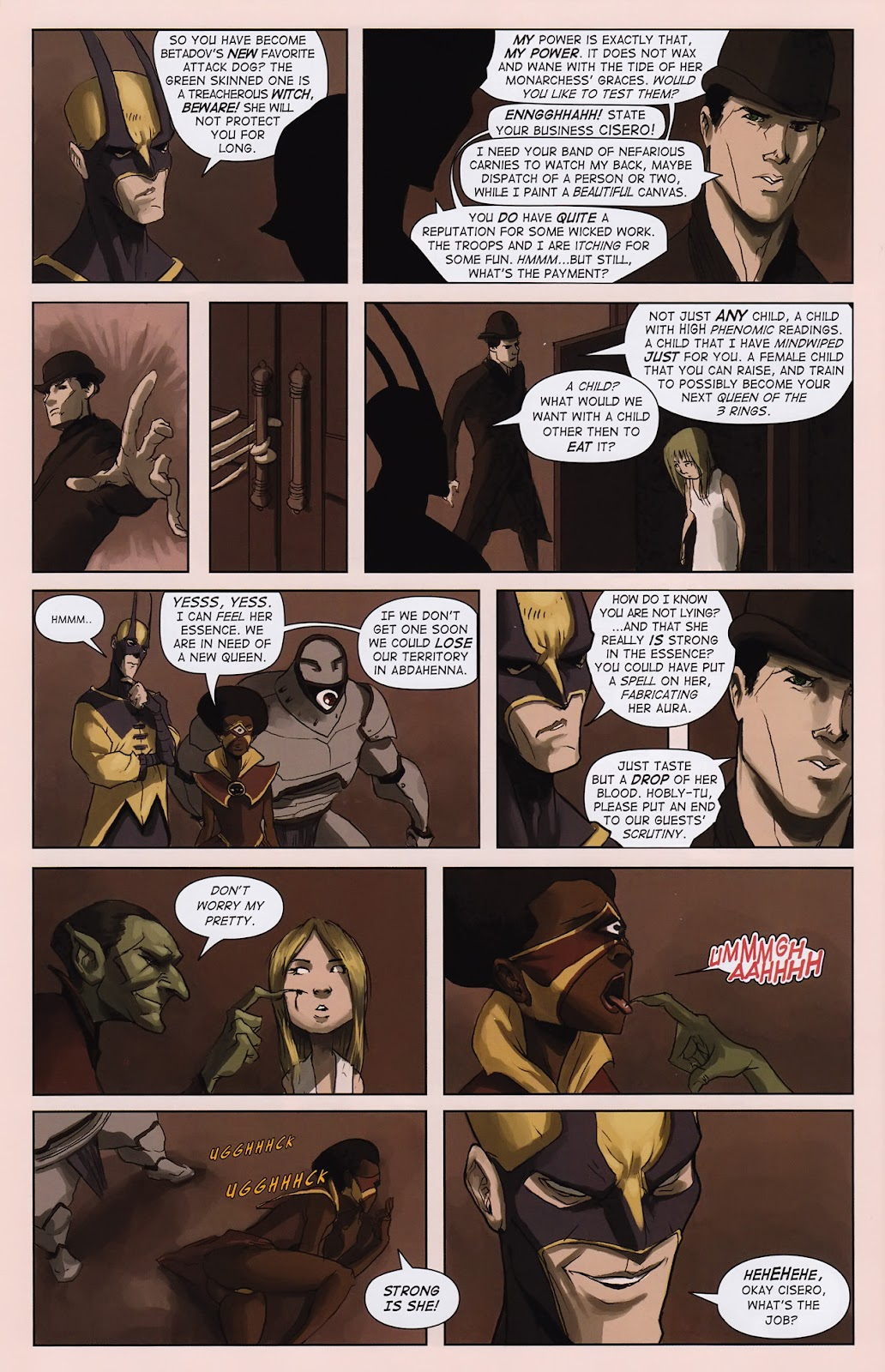 Read online Vescell comic -  Issue #2 - 28