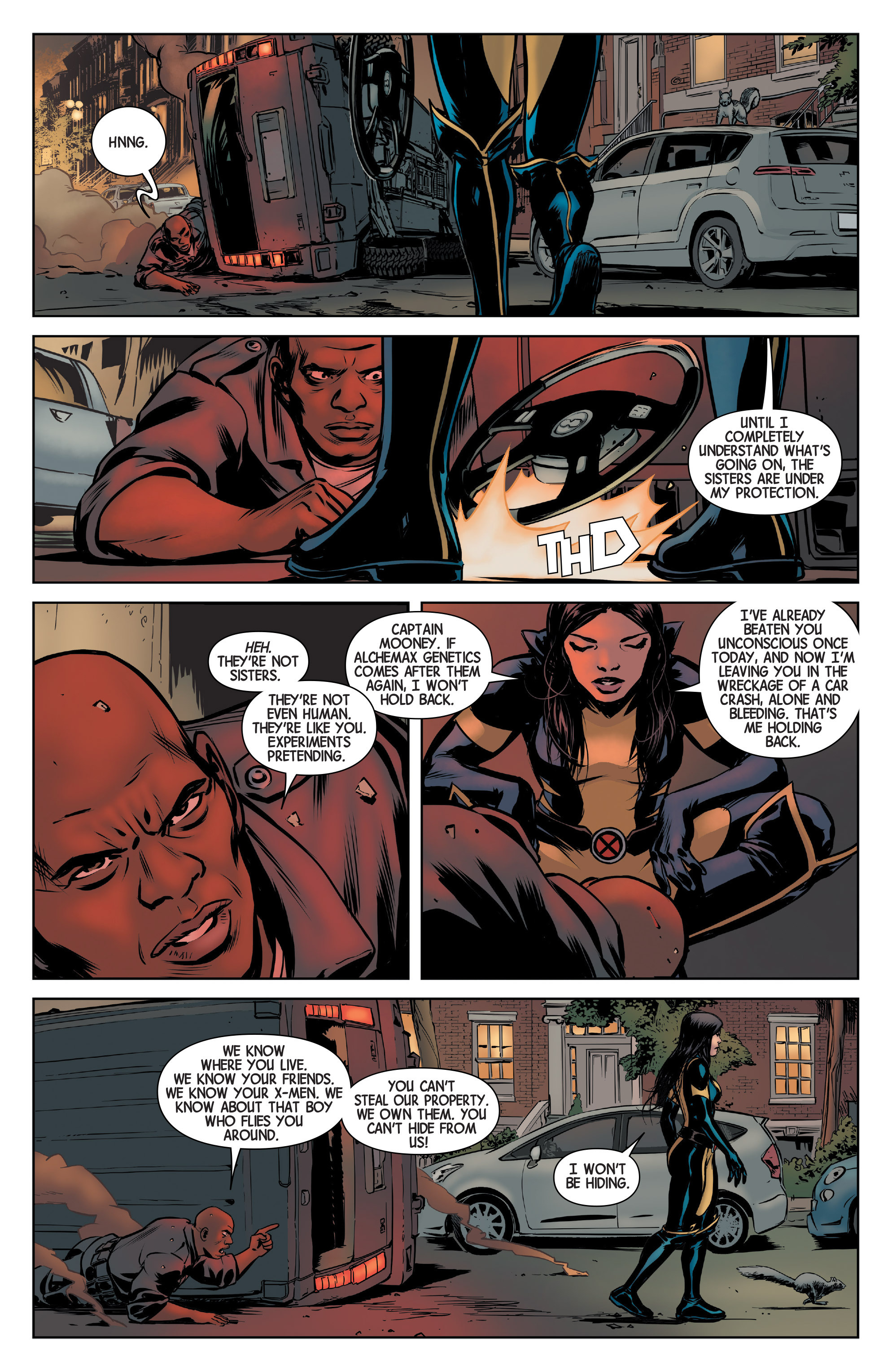 Read online All-New Wolverine (2016) comic -  Issue #3 - 17
