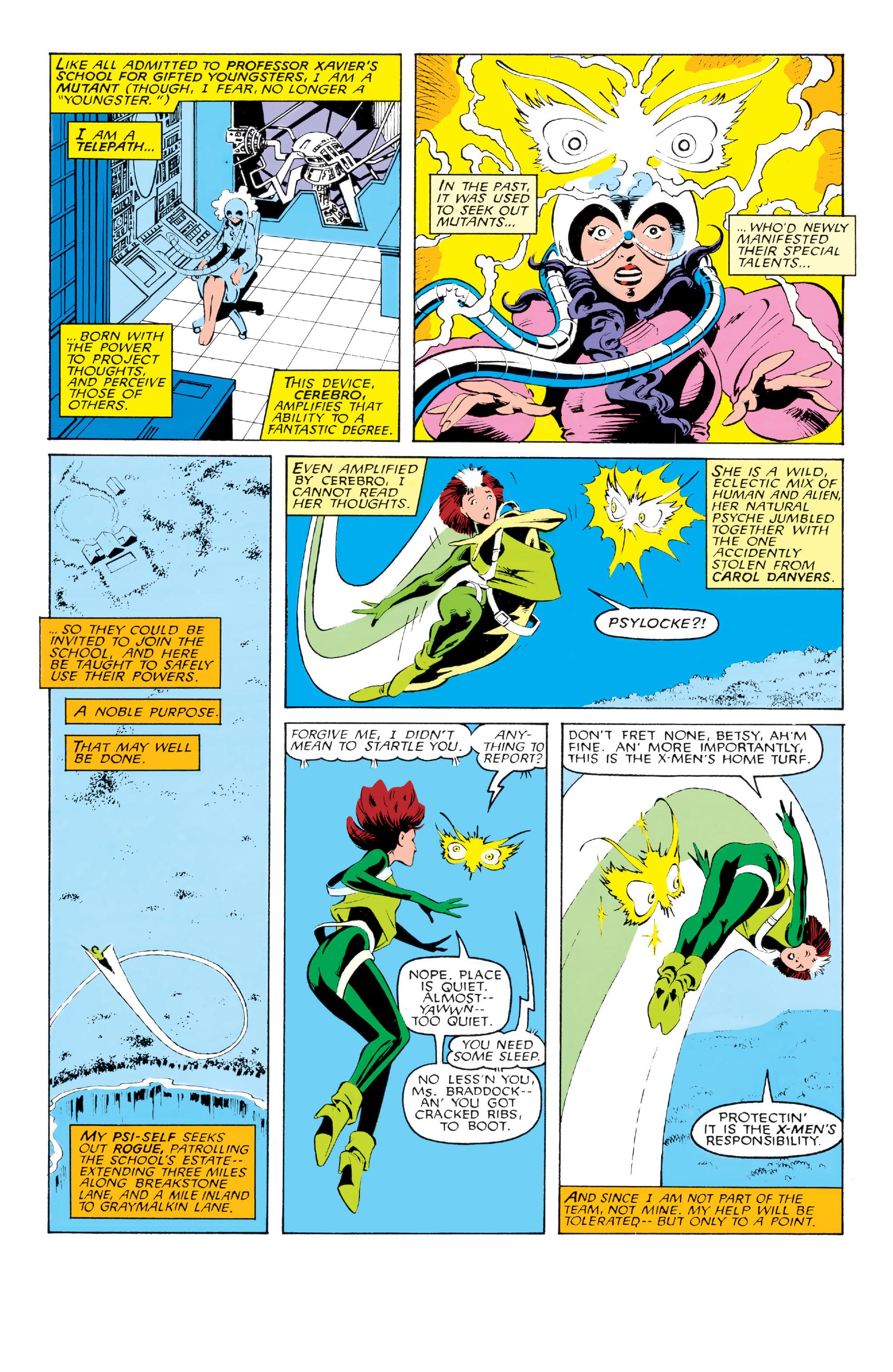 Read online Uncanny X-Men (1963) comic -  Issue #213 - 3